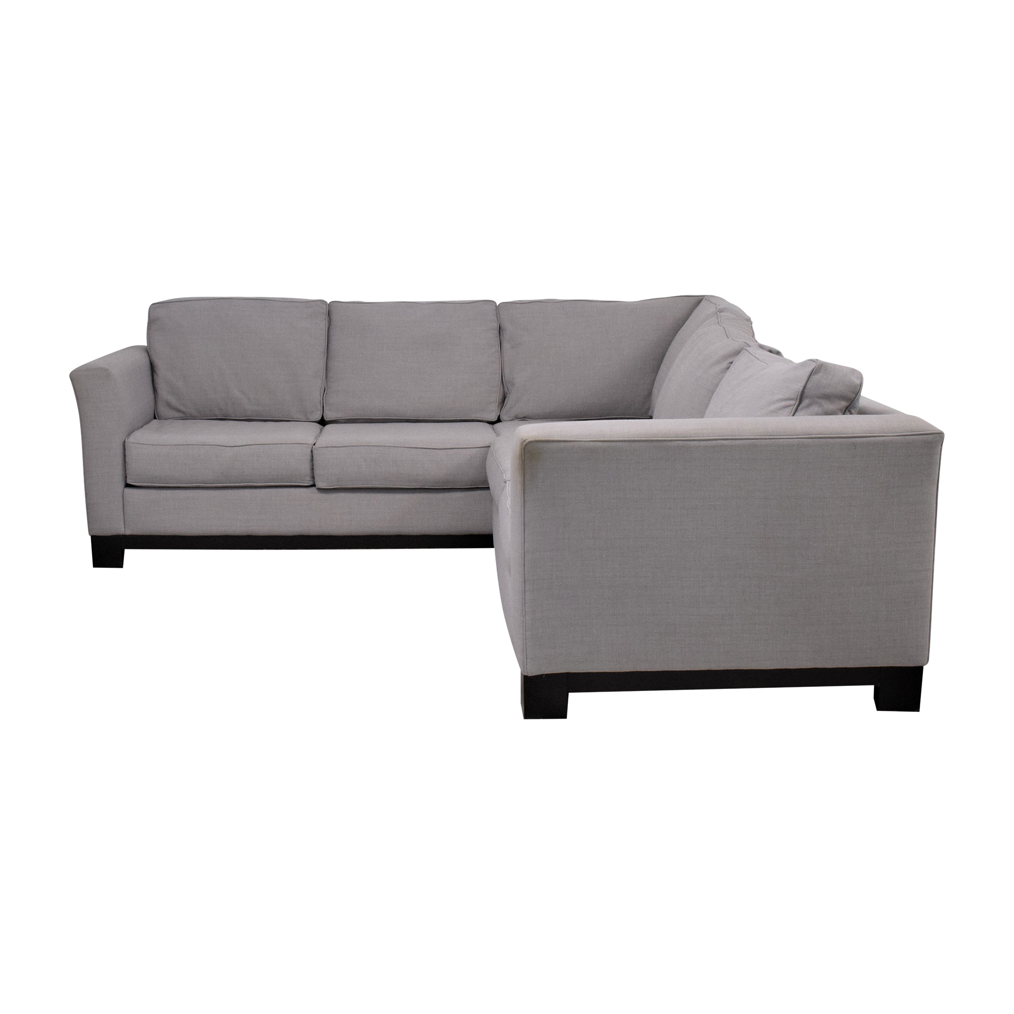 80 off macy s macy s elliot 2pc sleeper sofa sectional sofas