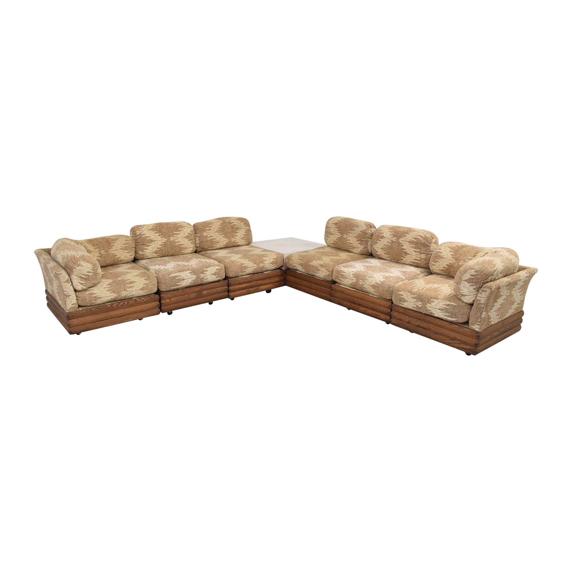 88 off royal lounge royal lounge sectional sofa with corner table sofas