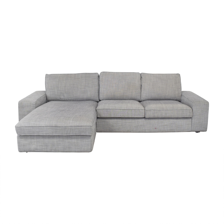 15 off ikea ikea kivik chaise sectional sofa sofas