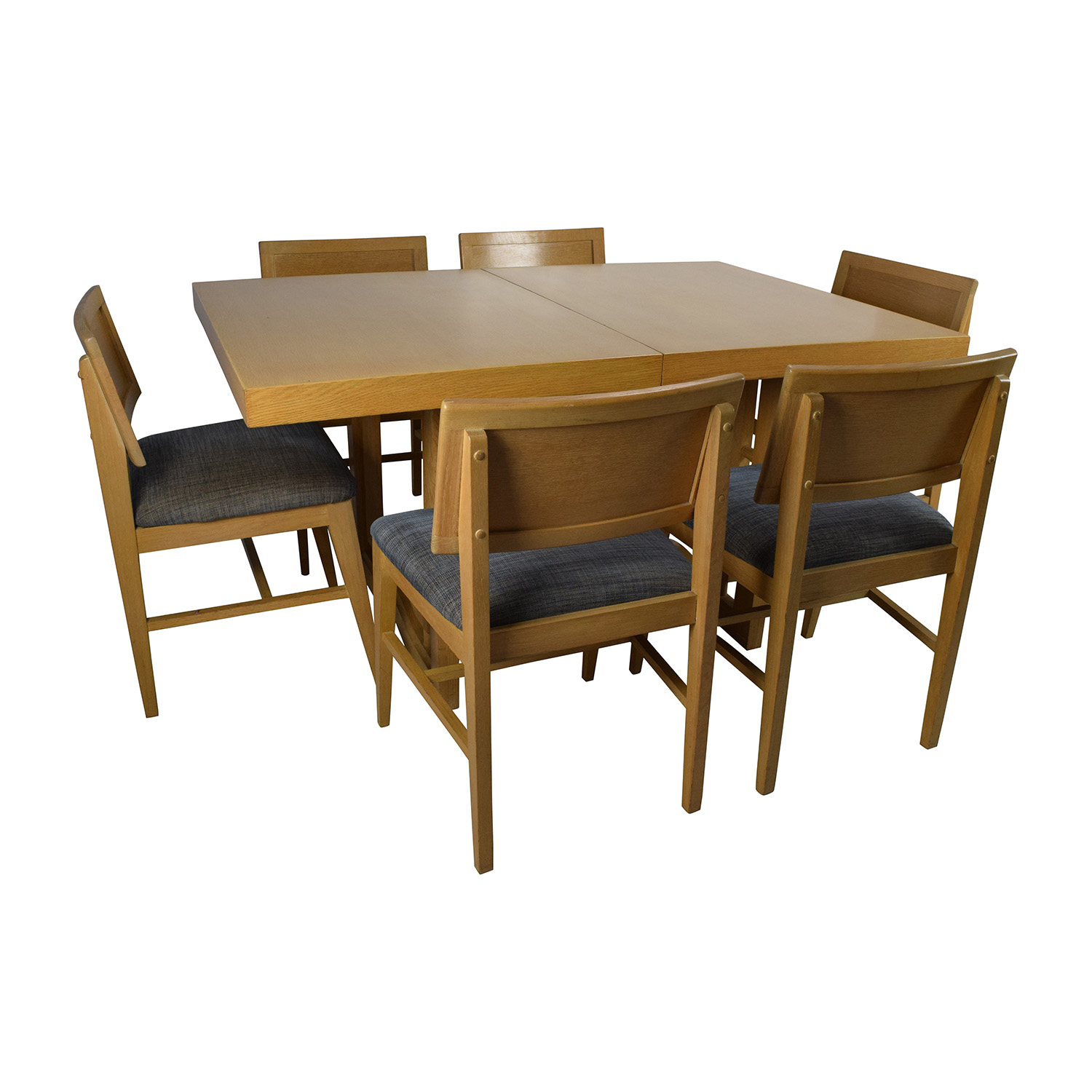 Used Dining Room Table And Chairs 59 Off Mid Century Extension Dining Table And Six Chairs Tables