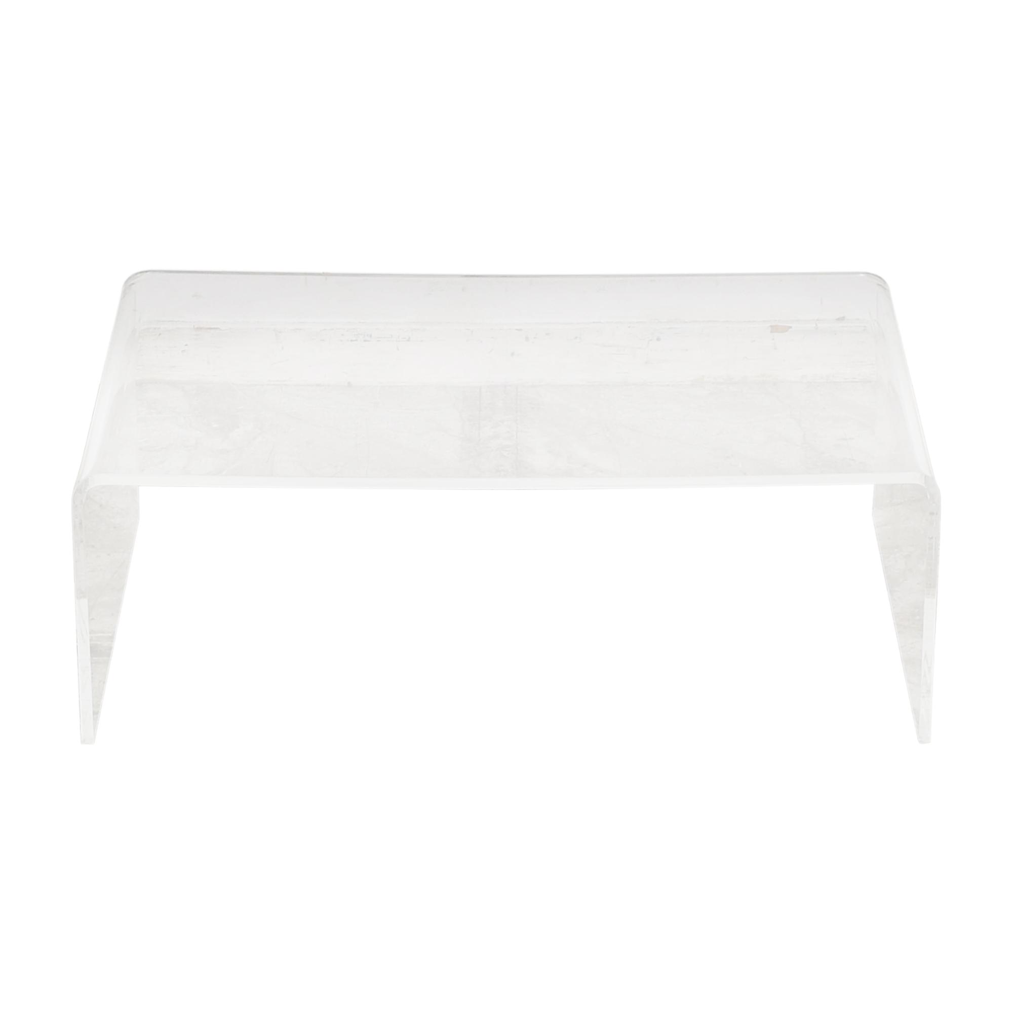 31 off cb2 cb2 peekaboo coffee table tables