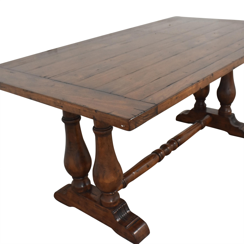 66 off pottery barn pottery barn farmhouse dining table tables