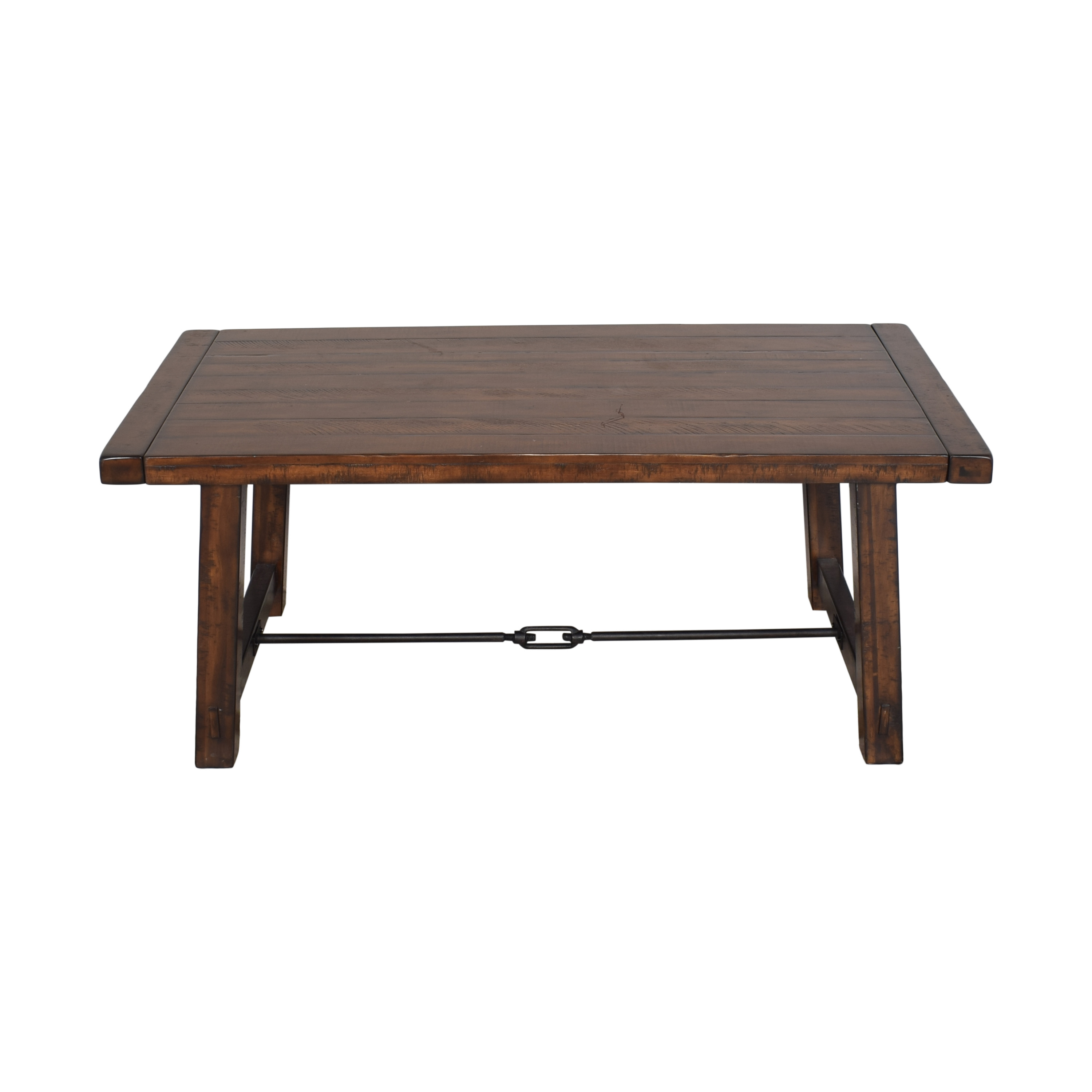 44 off pottery barn pottery barn benchwright extending dining table tables