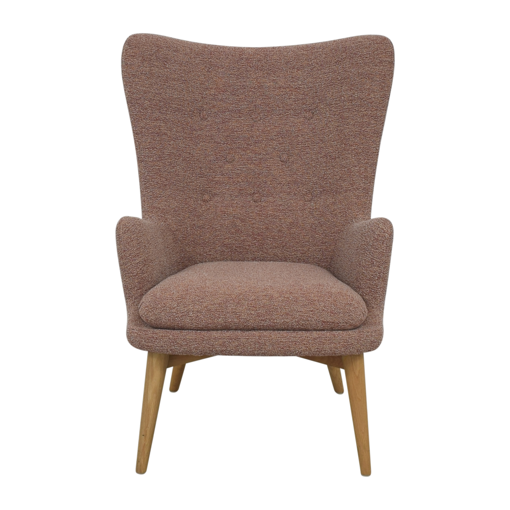 65 Off West Elm West Elm Bliss Down Filled Chair And A Half Chairs