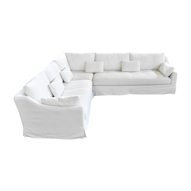 Ikea farlov slipcovered sofa review ikea farlov sofa canapé blanc lavage living room. 30% OFF - IKEA IKEA FARLOV Corner Sectional Sofa / Sofas