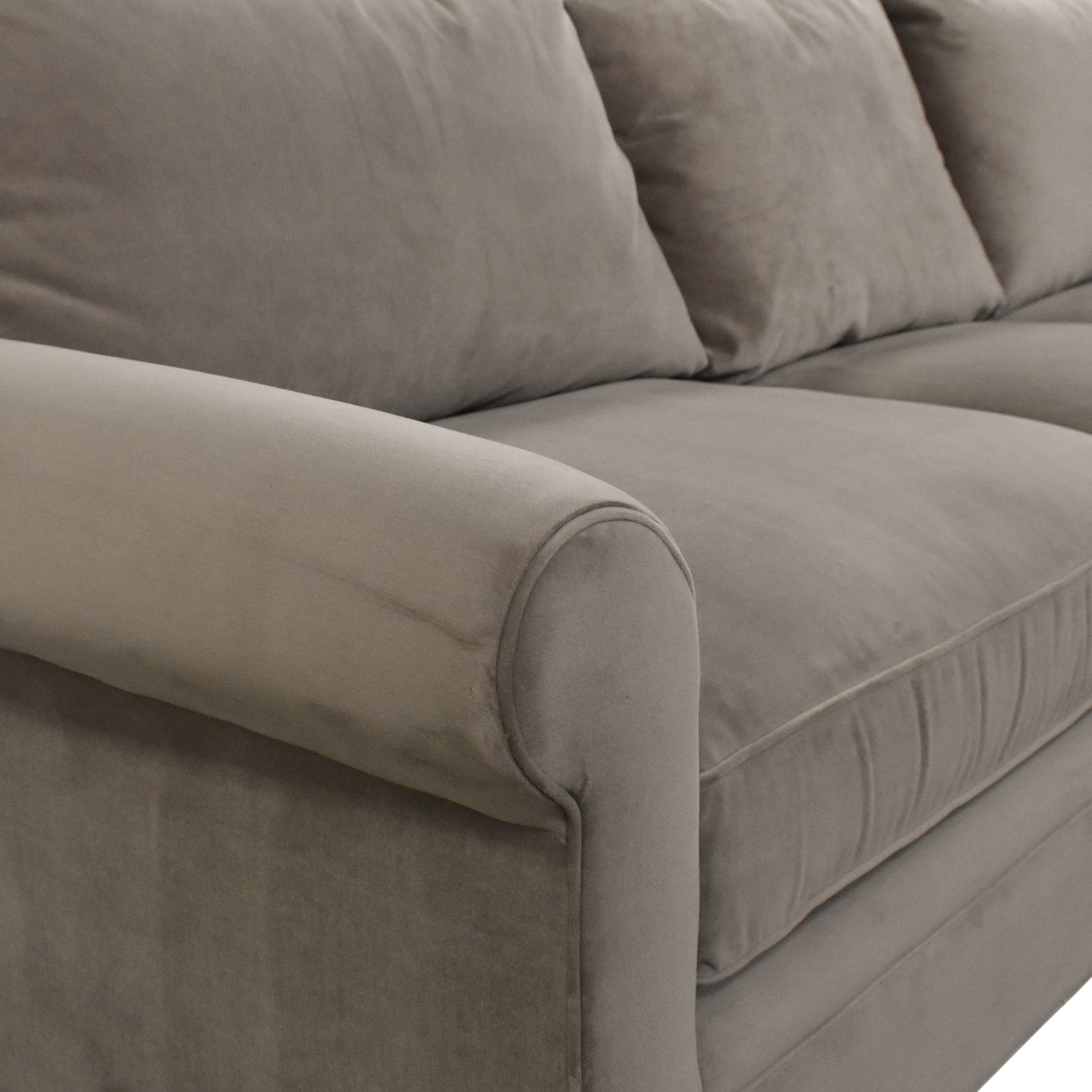 62 off macy s macy s modern concepts l shaped sectional sofa sofas