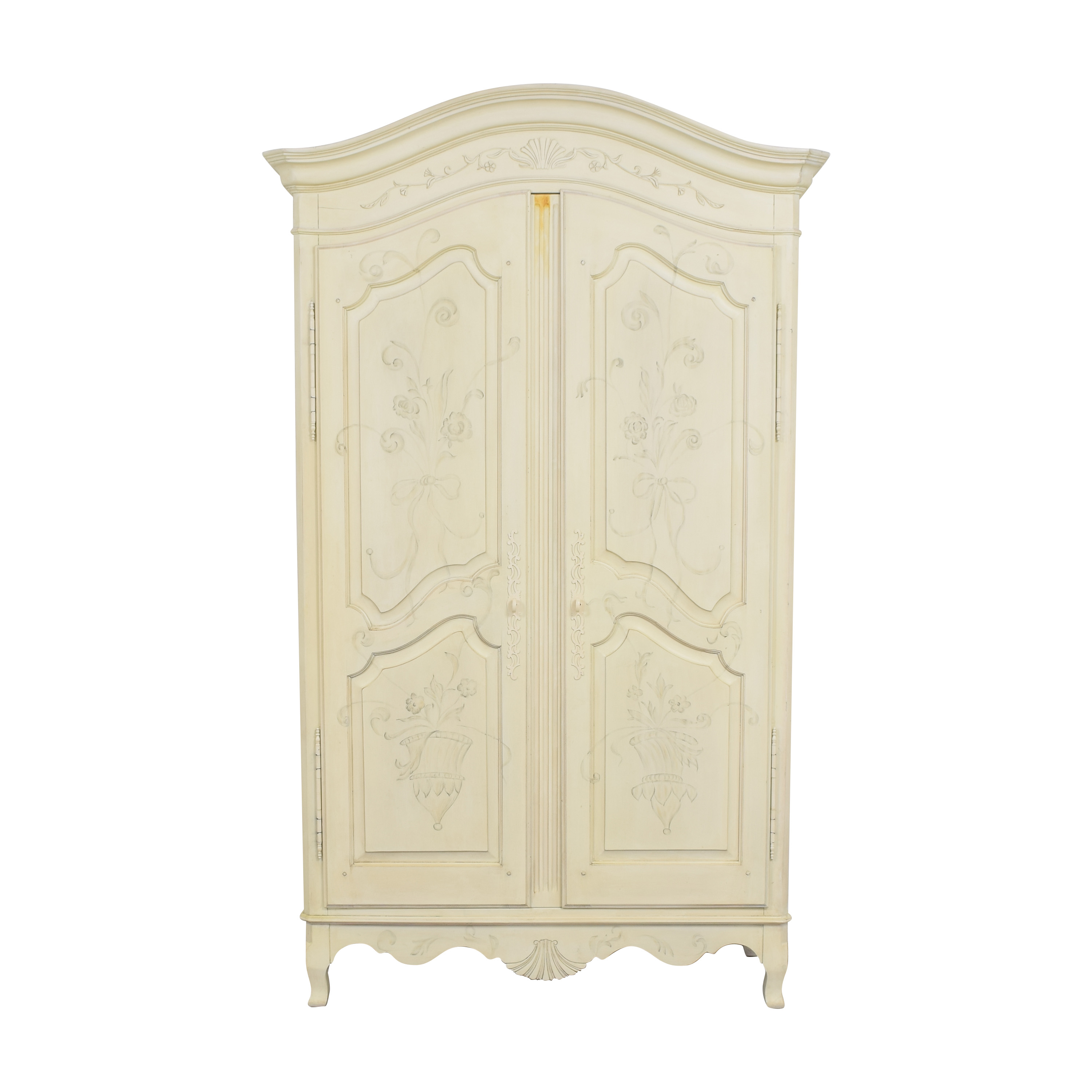 66 off ethan allen ethan allen decorated country french armoire storage
