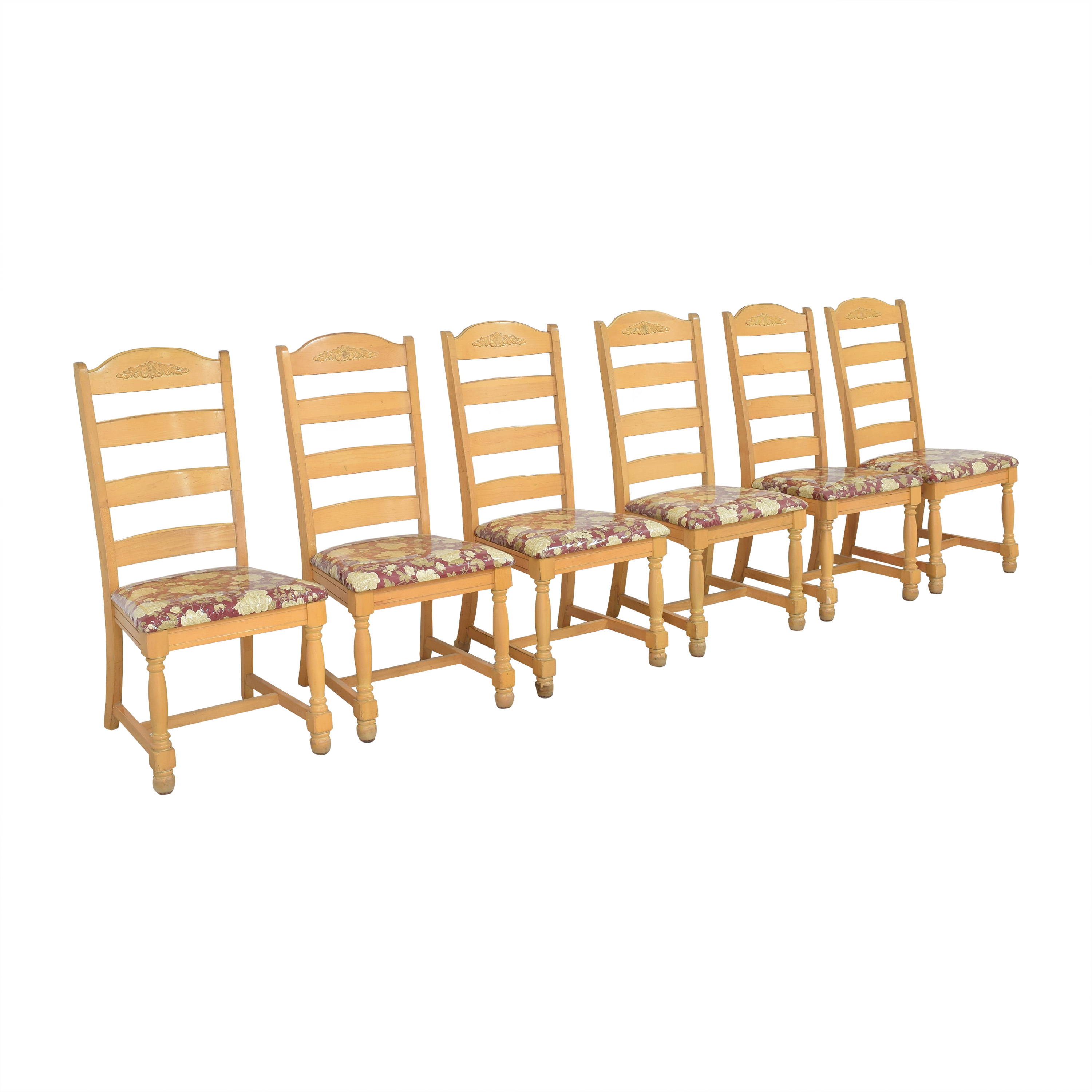 58 off broyhill furniture broyhill ladderback dining chairs chairs