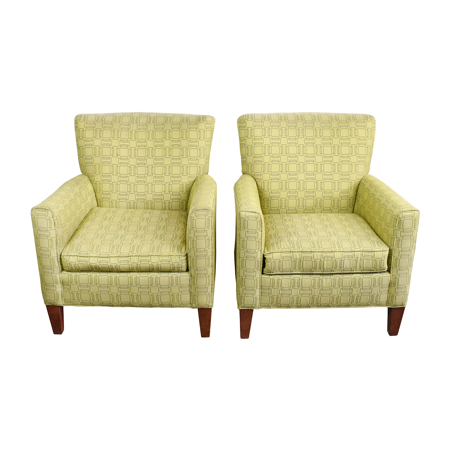 Green Upholstered Chair 90 Off Ethan Allen Ethan Allen Green Upholstered Accent Chairs Chairs