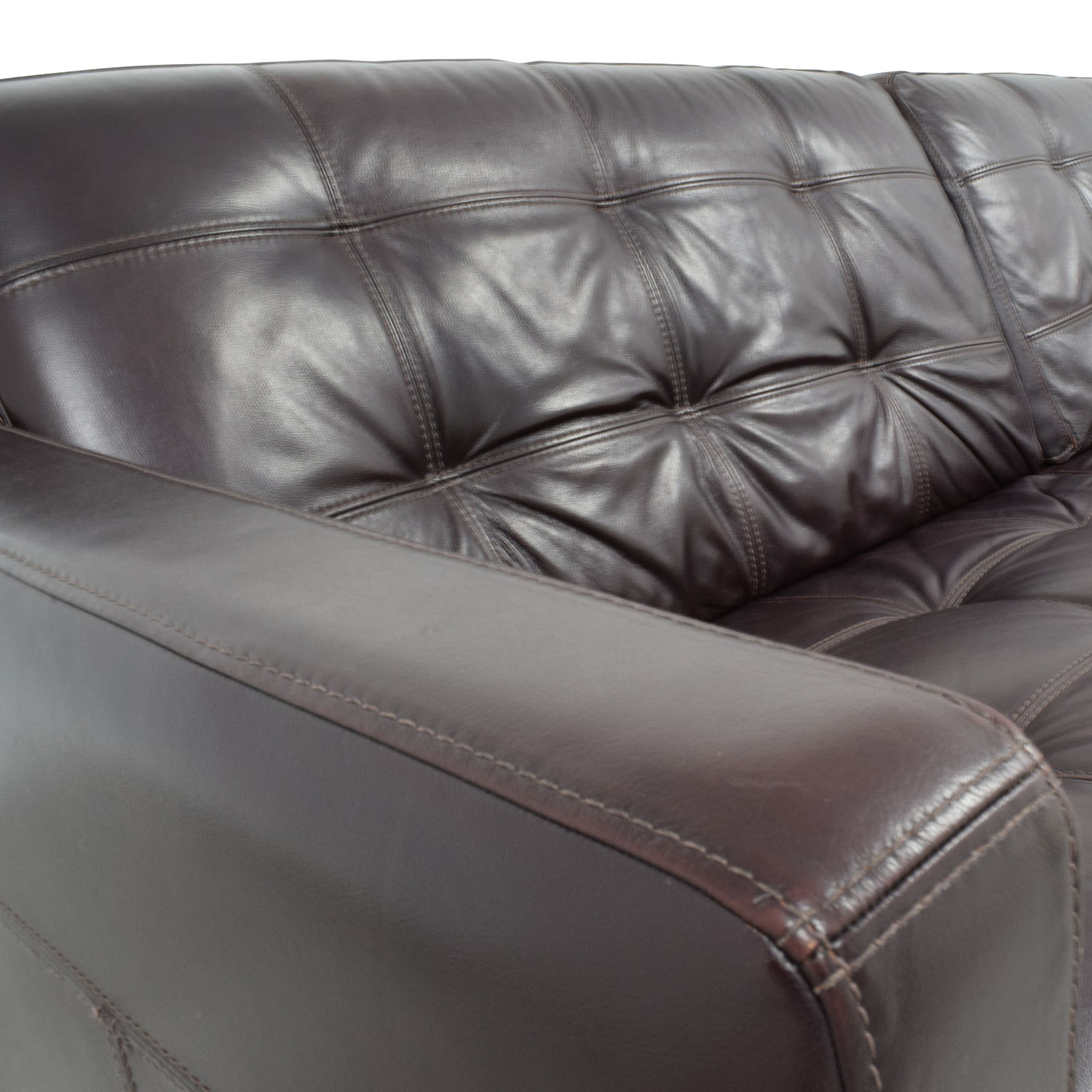 Macys Leather Chair 59 Off Macy S Macy S Milan Leather Sofa Sofas
