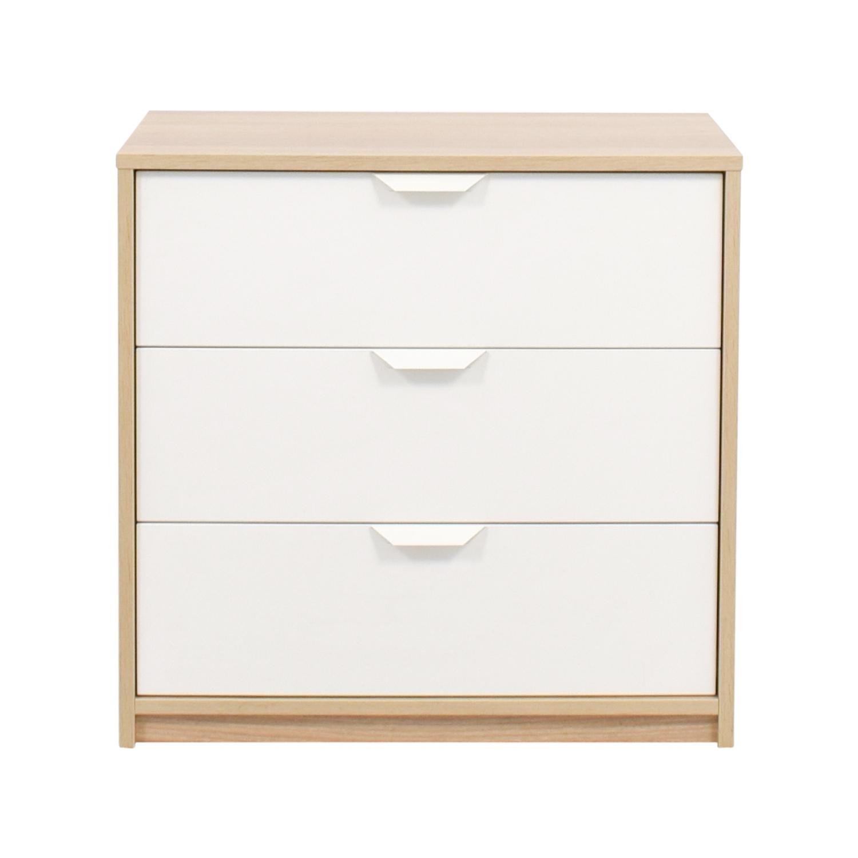 36 off ikea ikea white wood dresser storage