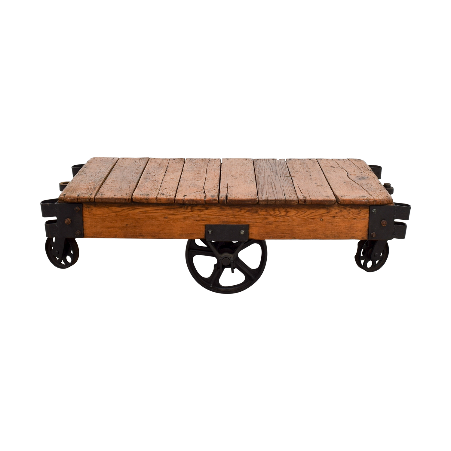 49 off restoration hardware restoration hardware rustic coffee table with wheels tables
