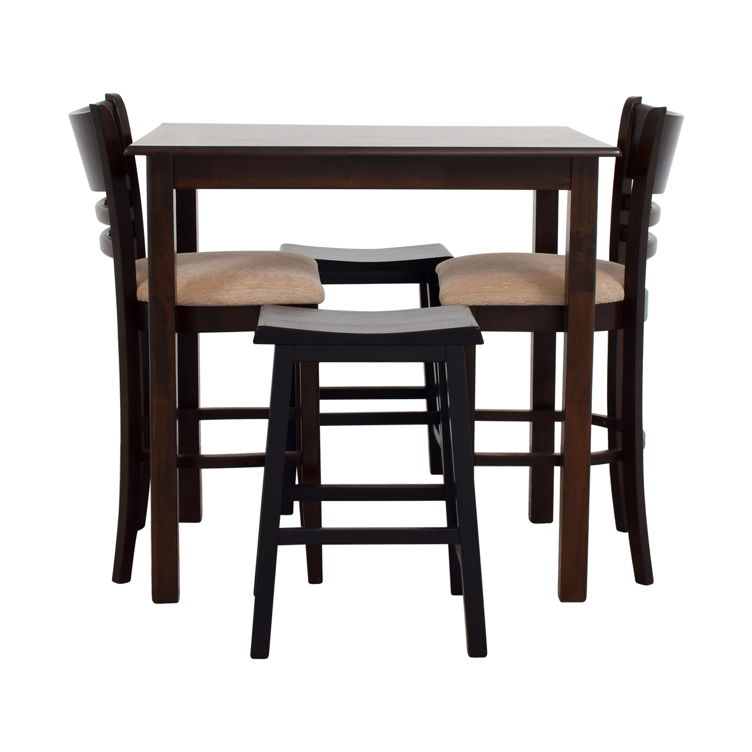 Bar Table With Chairs 70 Off Simple Bar Table With Two Chairs And Two Stools Tables