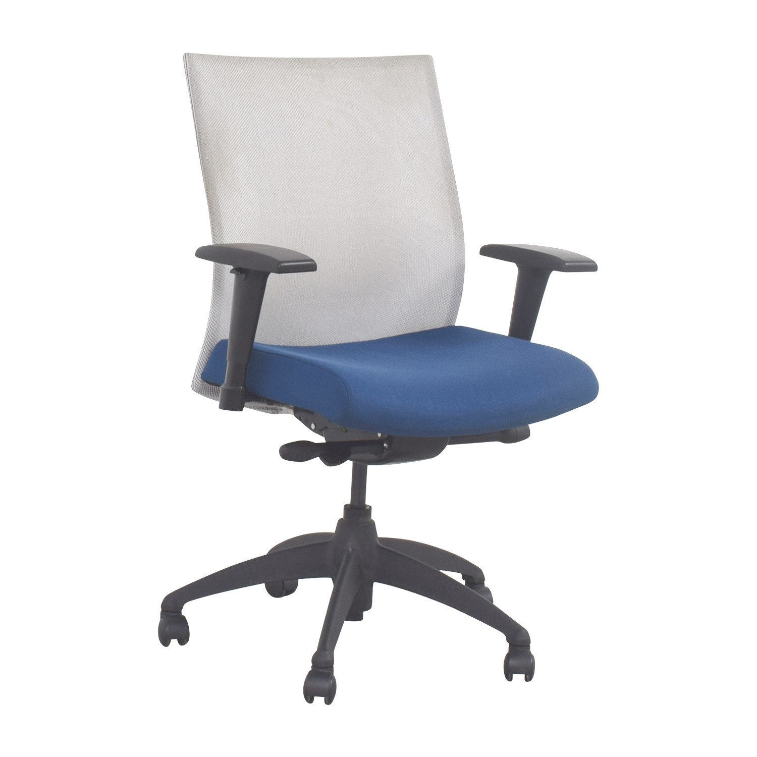 Task Chairs With Arms 90 Off Stylex Stylex Blue Adjustable Arms Task Chair Chairs