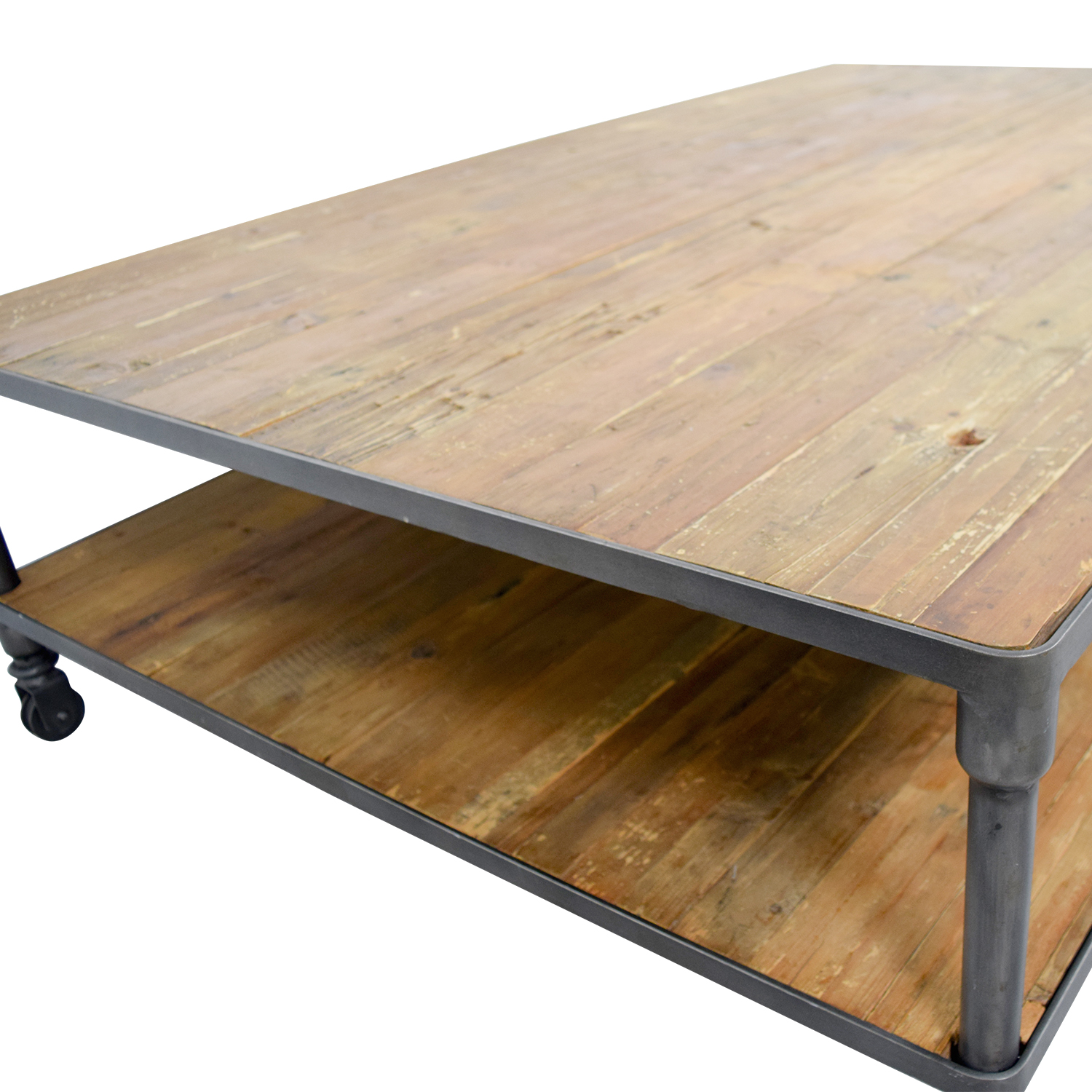 68 off abc carpet home abc carpet home reclaimed wood coffee table tables