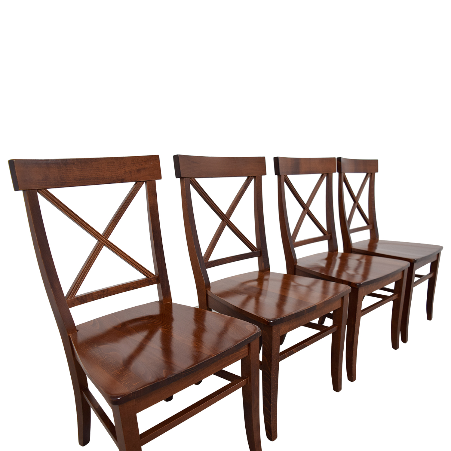 Aaron Chair 84 Off Pottery Barn Pottery Barn Aaron Wood Dining Chairs Chairs