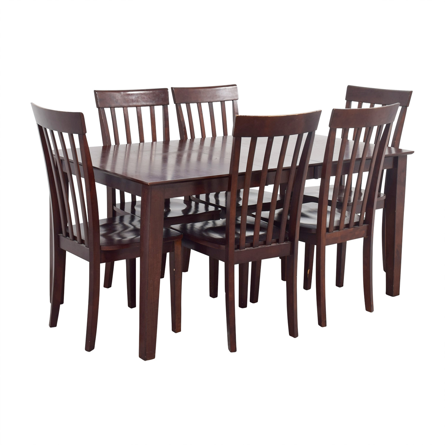 89 Off Bob S Discount Furniture Bob S Furniture Dining Room Table And Chairs Tables