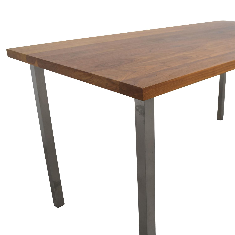 84 off room board room board portica walnut table tables