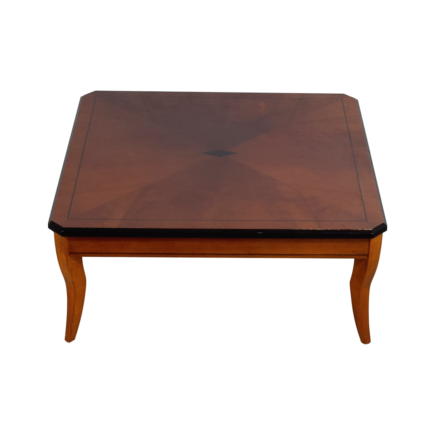 90 off cherry wood square coffee table tables