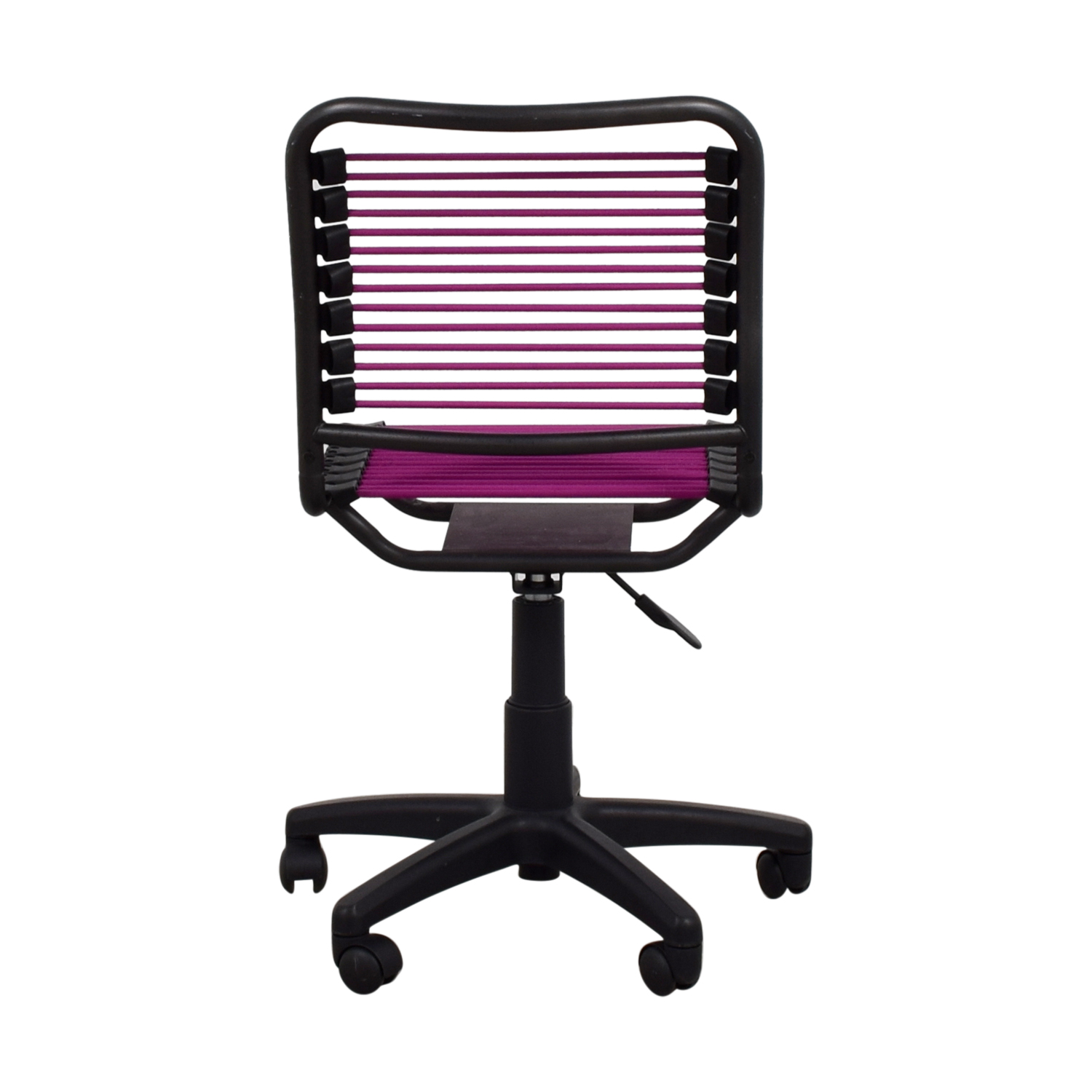 Chair On Wheels 86 Off The Container Store Container Store Magenta And Black Chair On Wheels Chairs