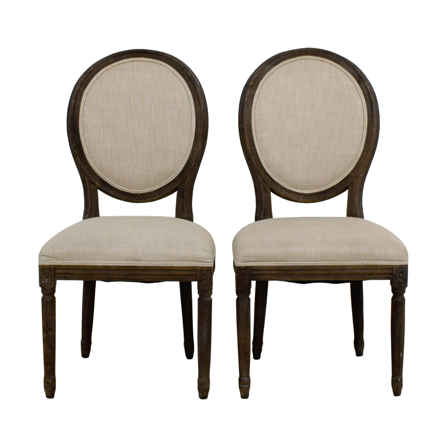 Restoration Hardware Dining Chairs 77 Off Restoration Hardware Restoration Hardware Beige Dining Chairs Chairs