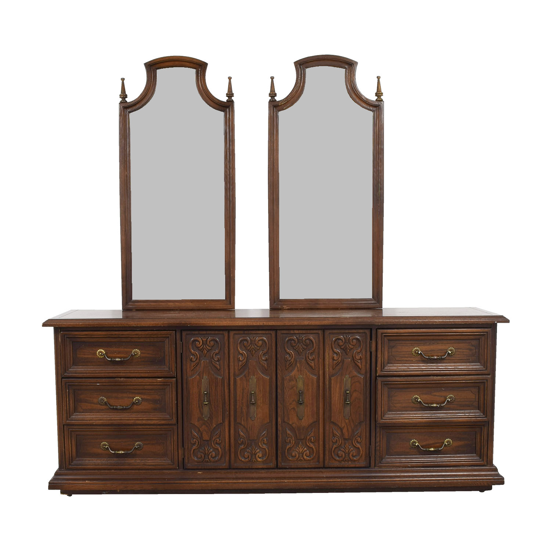 American Of Martinsville Tall Dresser