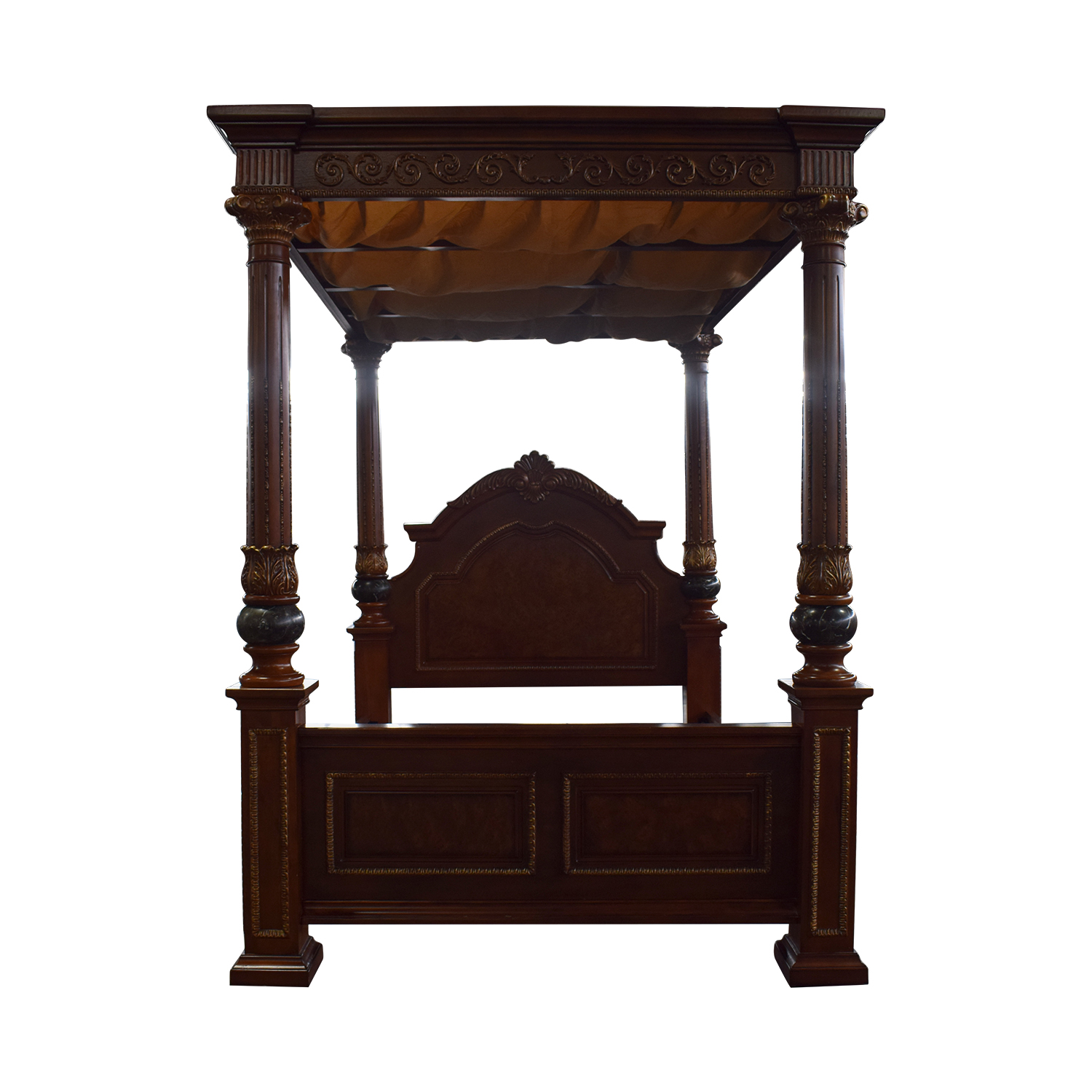 - Canopy Bed Frame Queen Wood - Canopy Ideas 2020
