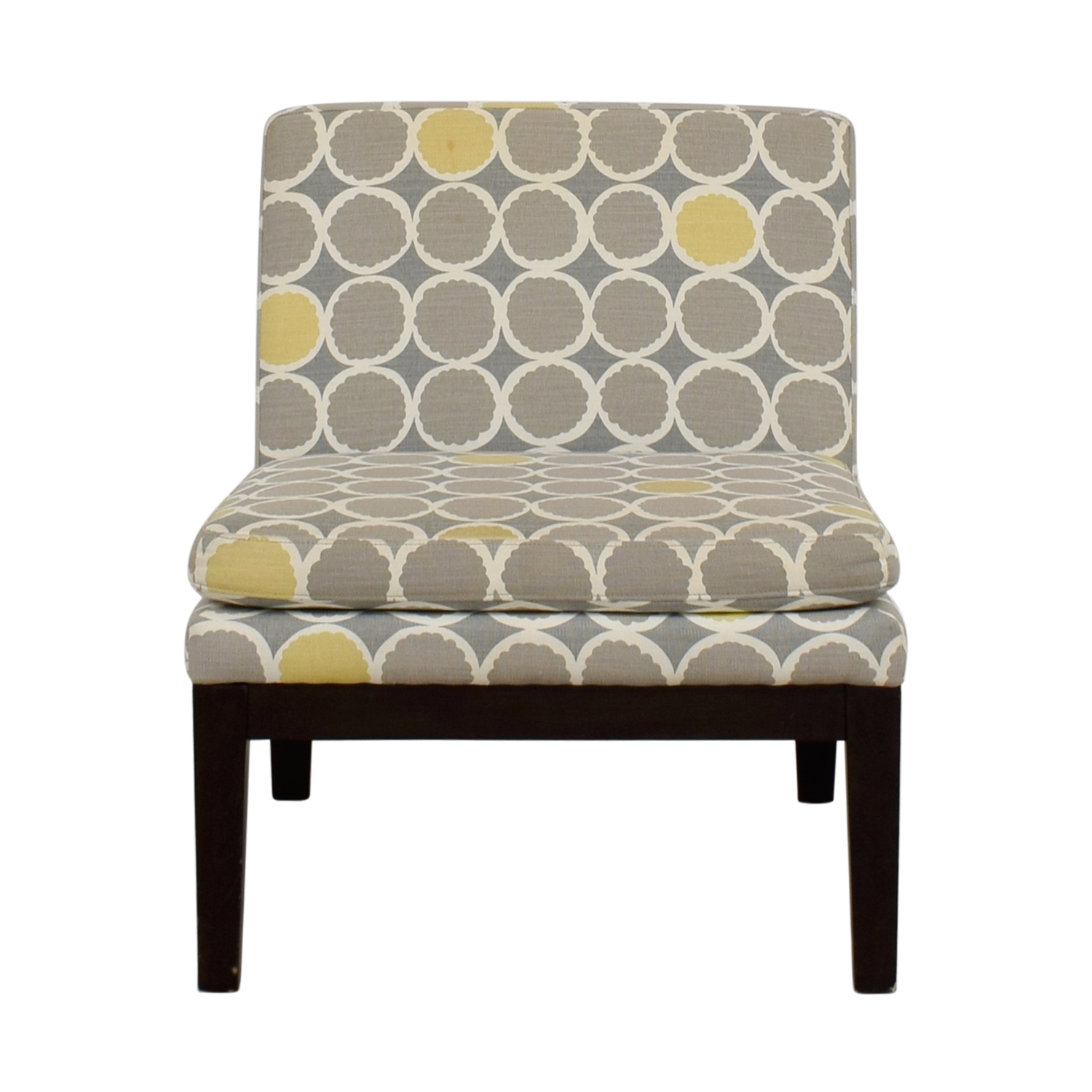 Grey And Yellow Chair 72 Off West Elm West Elm Grey Yellow And White Accent Chair Chairs