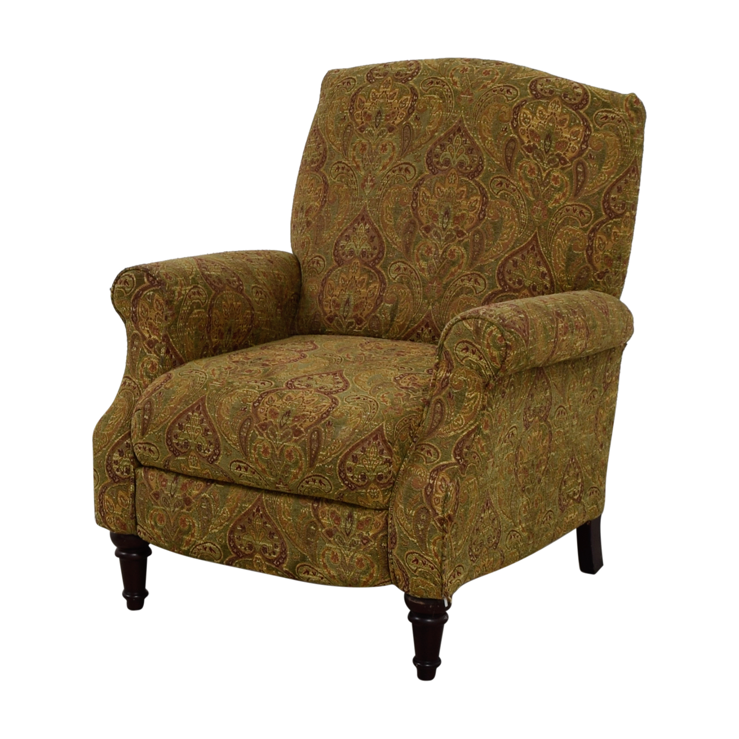 Paisley Chair 81 Off Green And Burgundy Paisley Recliner Chairs
