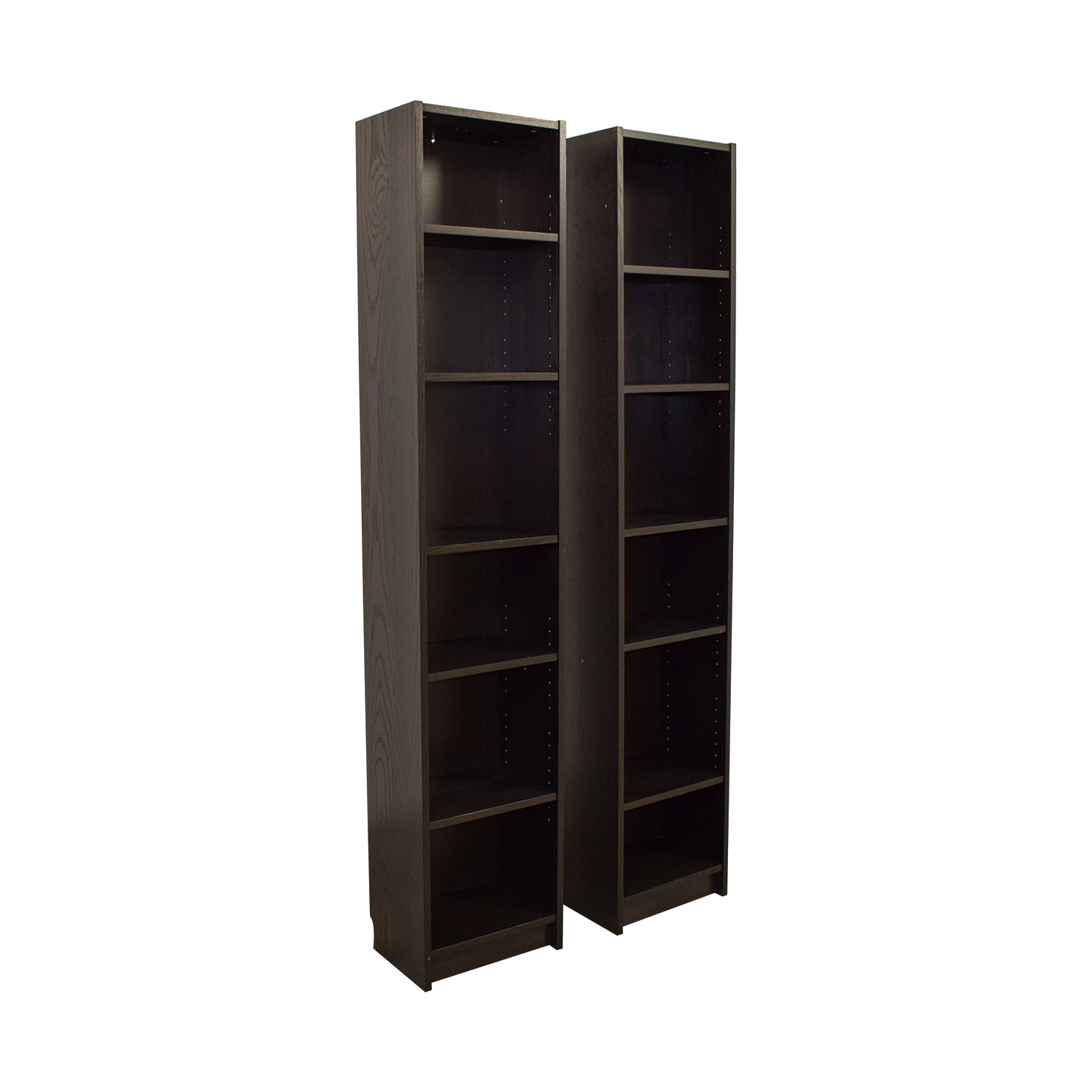50 Off Ikea Ikea Billy Tall Narrow Bookcase Storage