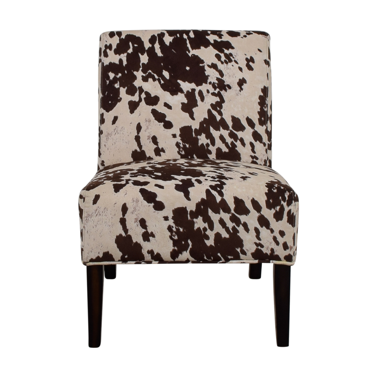 Cow Hide Chair 85 Off Inspire Q Inspire Brown And Cream Faux Cow Hide Fabric Accent Chair Chairs