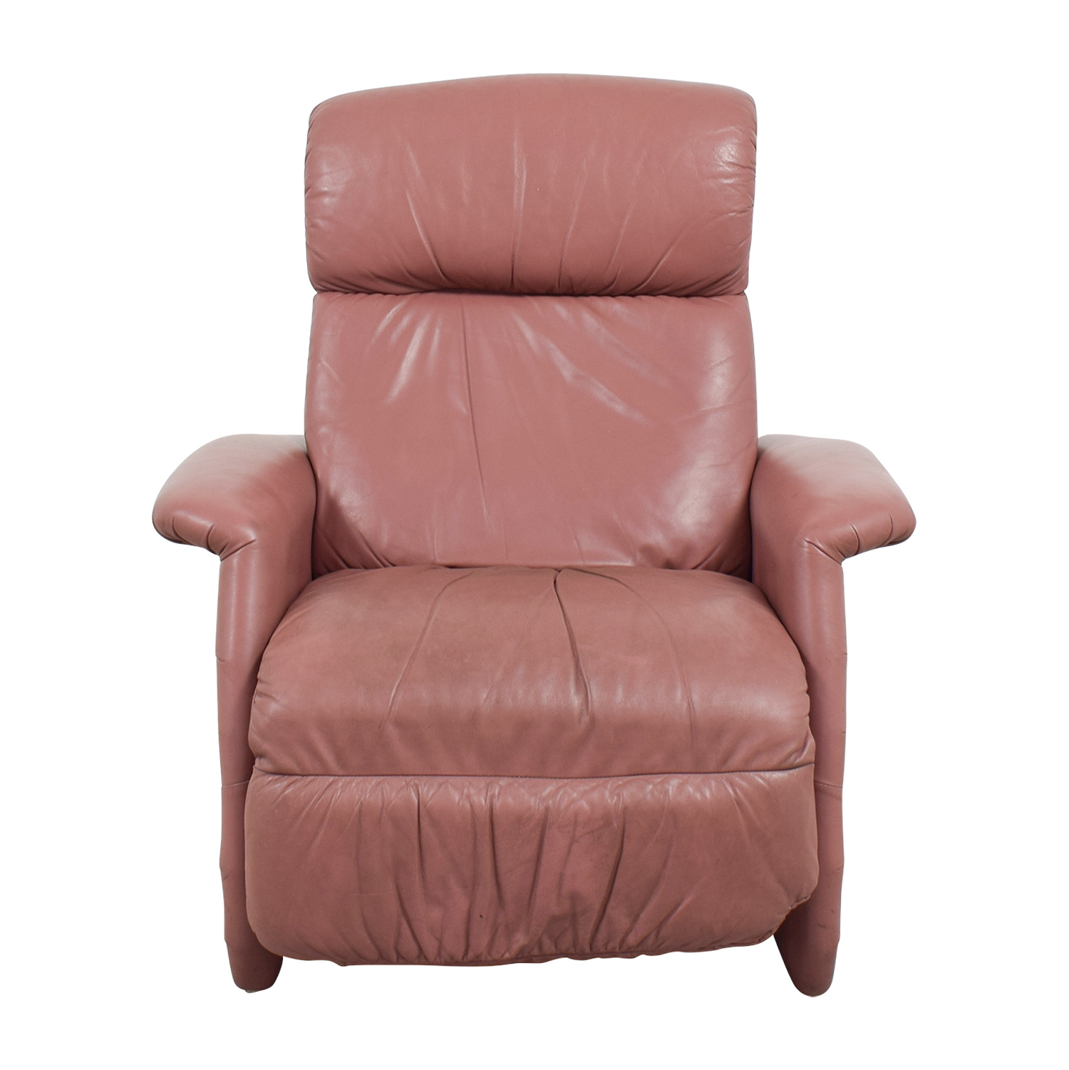 Leather Reclining Chairs 90 Off Salmon Leather Recliner Chairs
