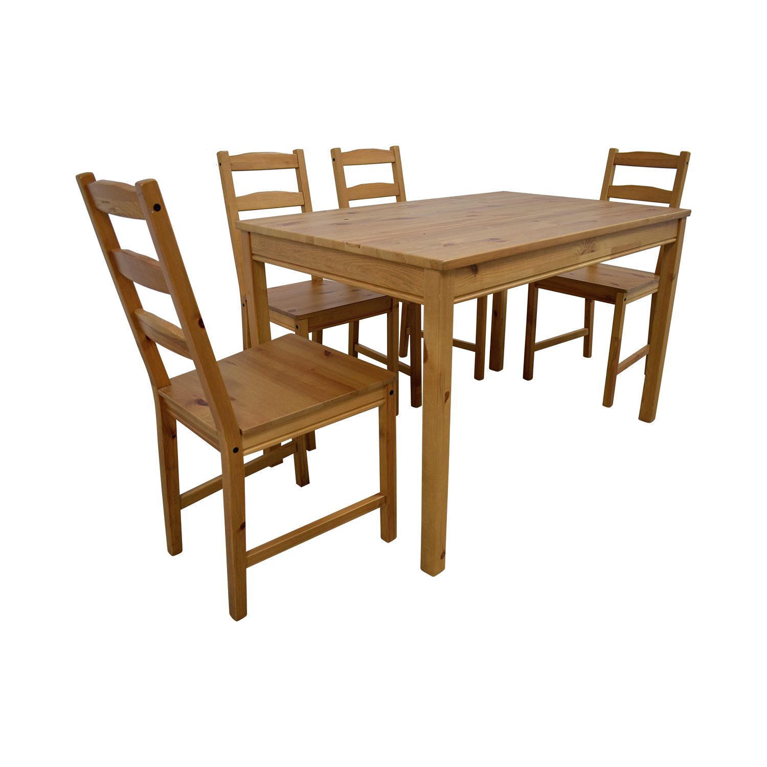 78 Off Ikea Ikea Natural Dining Set Tables