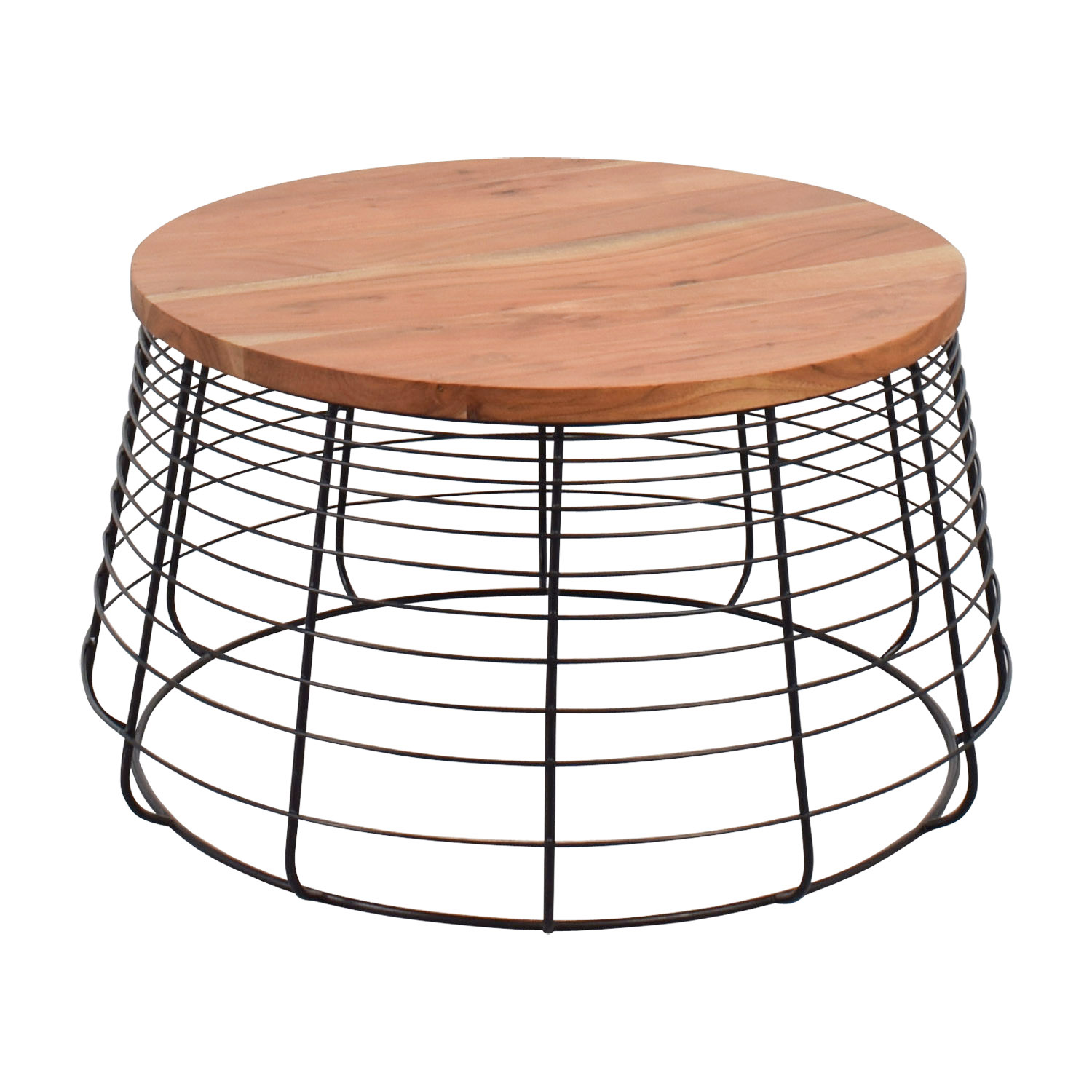54 off cb2 cb2 apis round coffee table tables