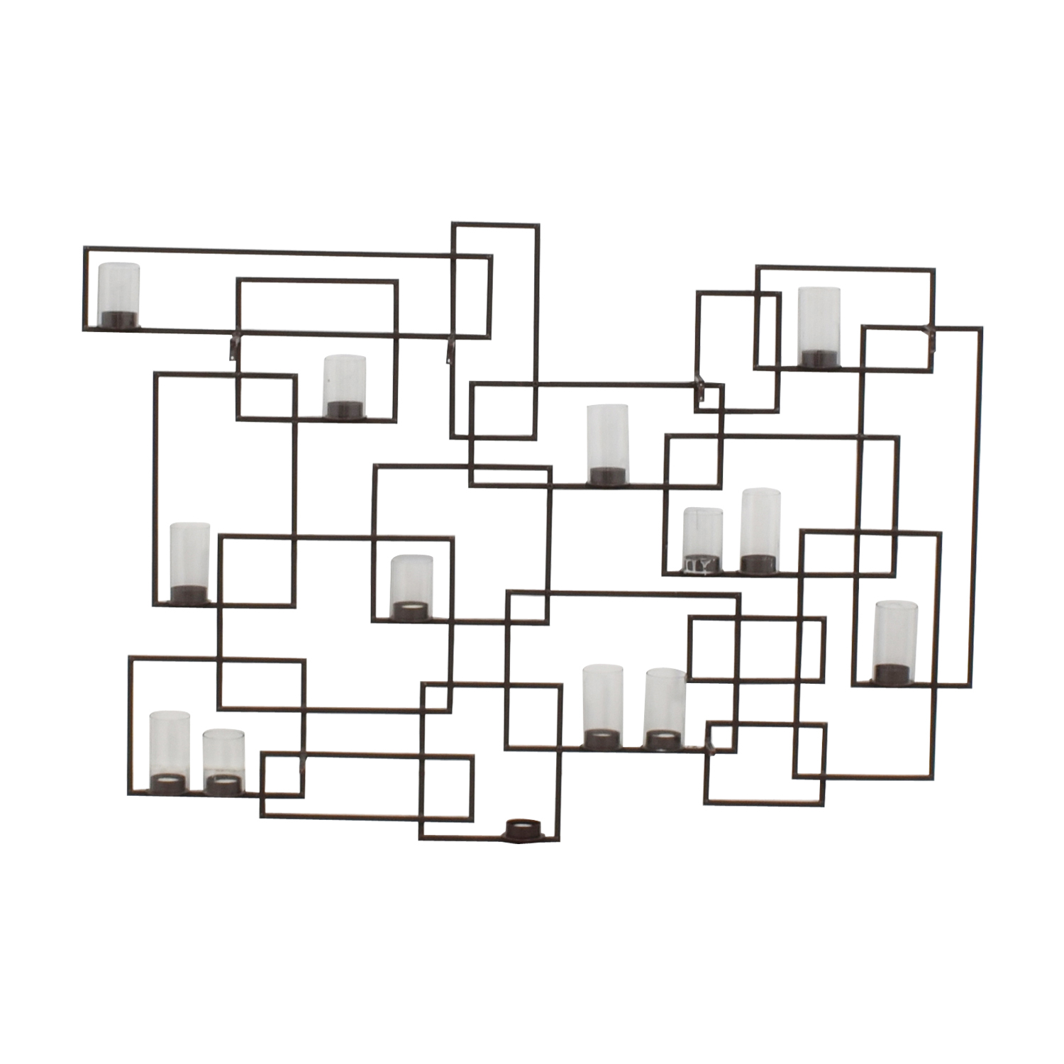 circuit metal wall candle holder 16900