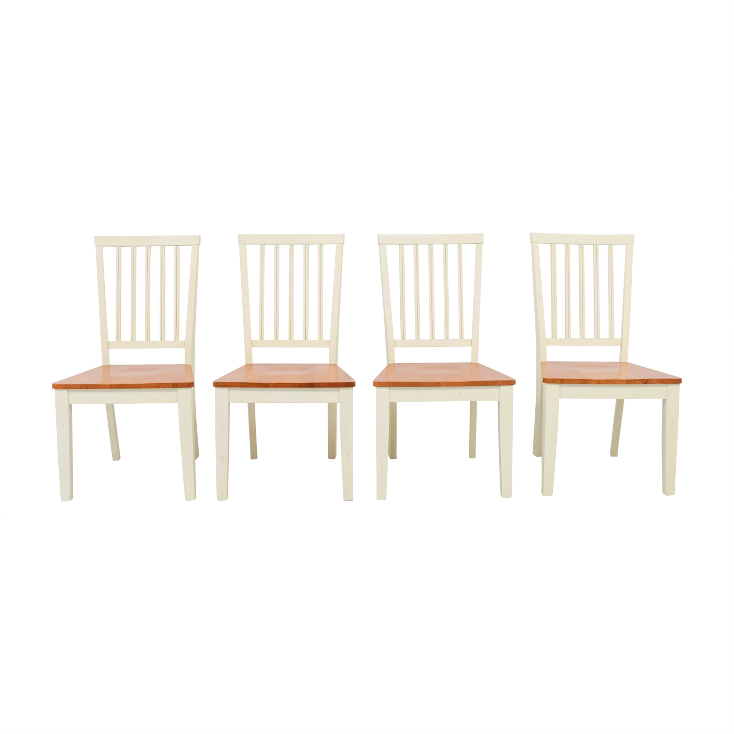 Antique White Dining Chairs 35 Off Raymour Flanigan Raymour Flanigan Ashby Cherry And Antique White Dining Chairs Chairs