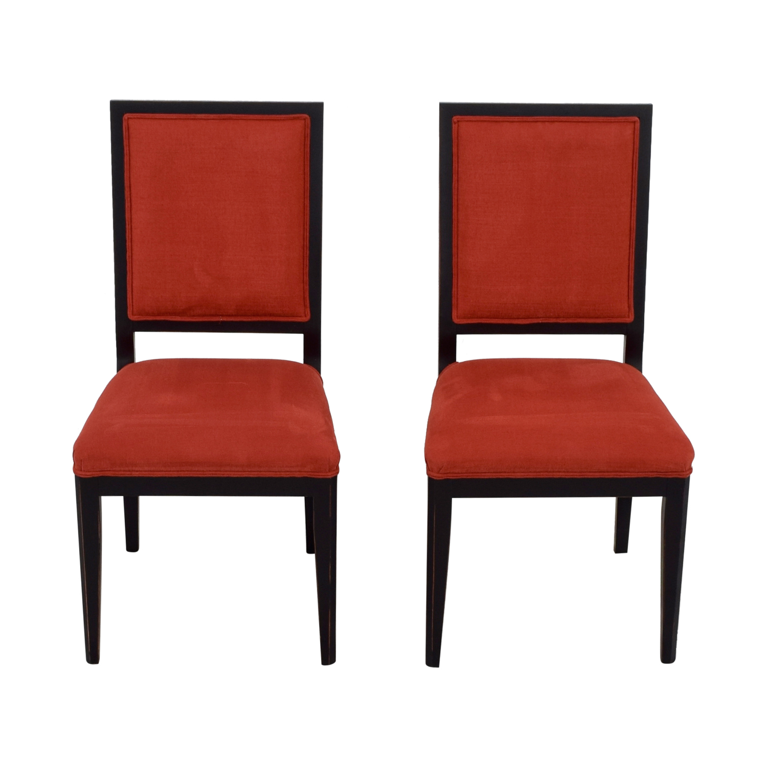 Red Upholstered Dining Chairs 90 Off Buying Design Buying And Design Red Upholstered Dining Chairs Chairs