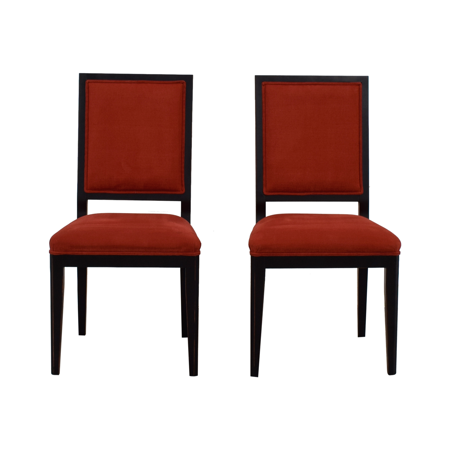 Red Upholstered Dining Chairs 90 Off Buying Design Buying And Design Red Upholstered Dining