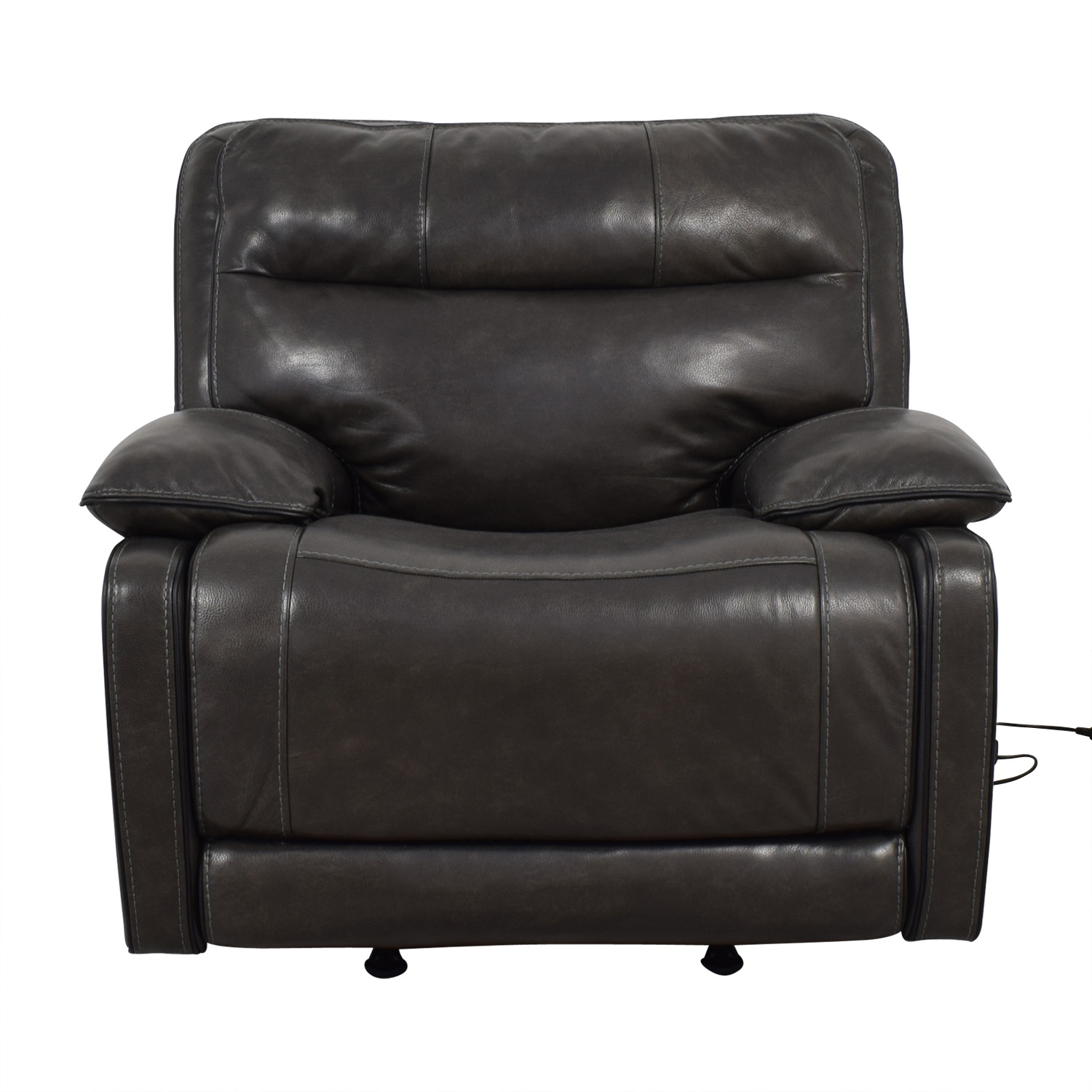 Ashley Furniture Recliner Chairs 90 Off Ashley Furniture Palladum Leather Metal Power Recliner Chairs