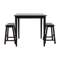 80% OFF - IKEA IKEA Bar Table and Stools / Tables