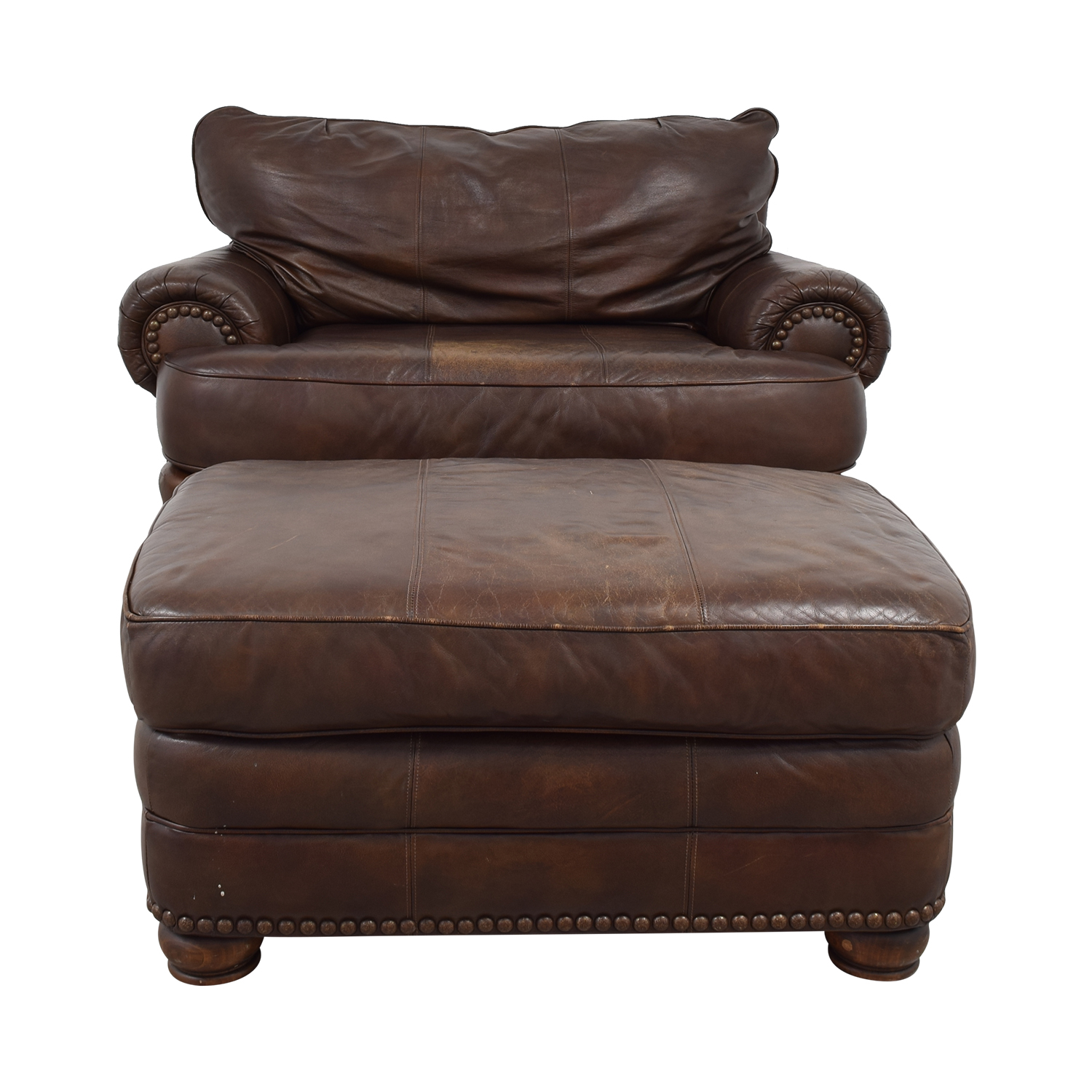 Discount Leather Chairs 68 Off Lane Furniture Lane Furniture Brown Leather Chair And Ottoman Chairs