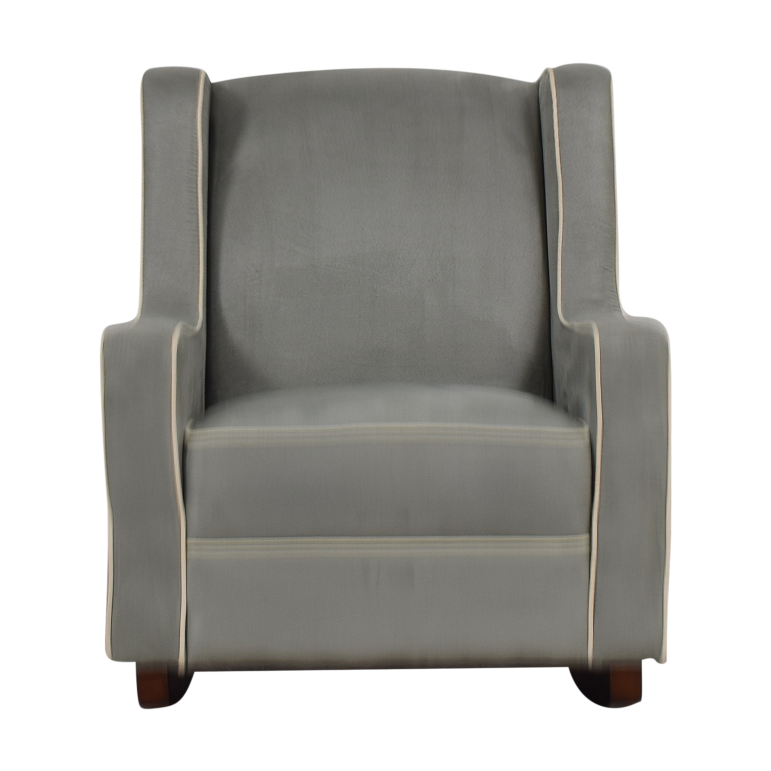 Plush Chairs 55 Off Viv Rae Viv Rae Sanders Grey With Beige Piping