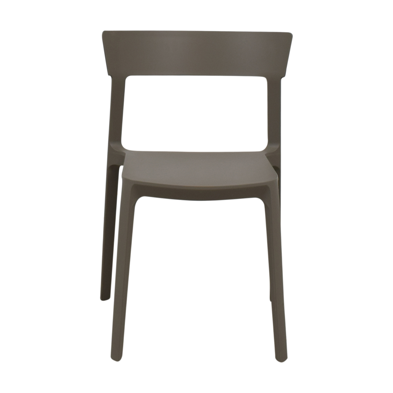Calligaris Dining Chairs 90 Off Calligaris Calligaris Grey Skin Stacking Chair Chairs