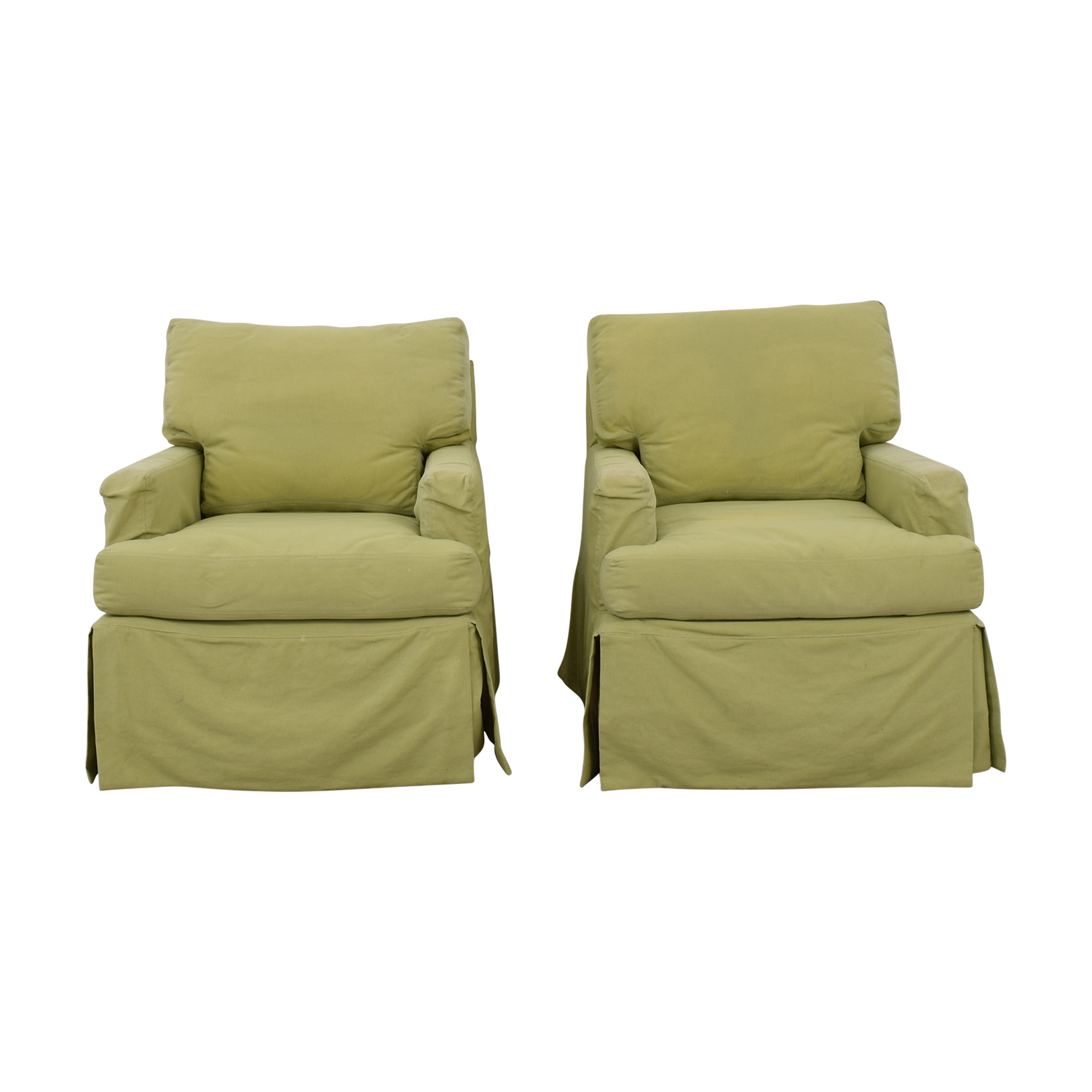 Rocking Accent Chairs 88 Off Crate Barrel Crate Barrel Green Rocker Accent Chairs