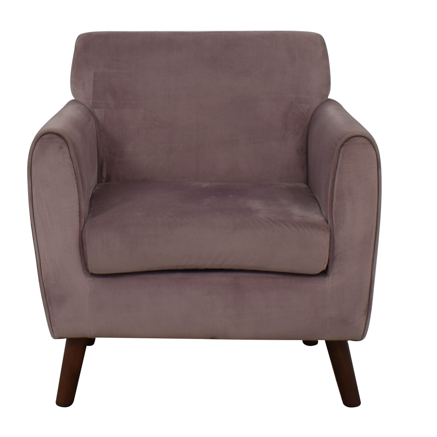 Purple Accent Chair 71 Off Brylane Home Brylane Home Purple Accent Chair Chairs