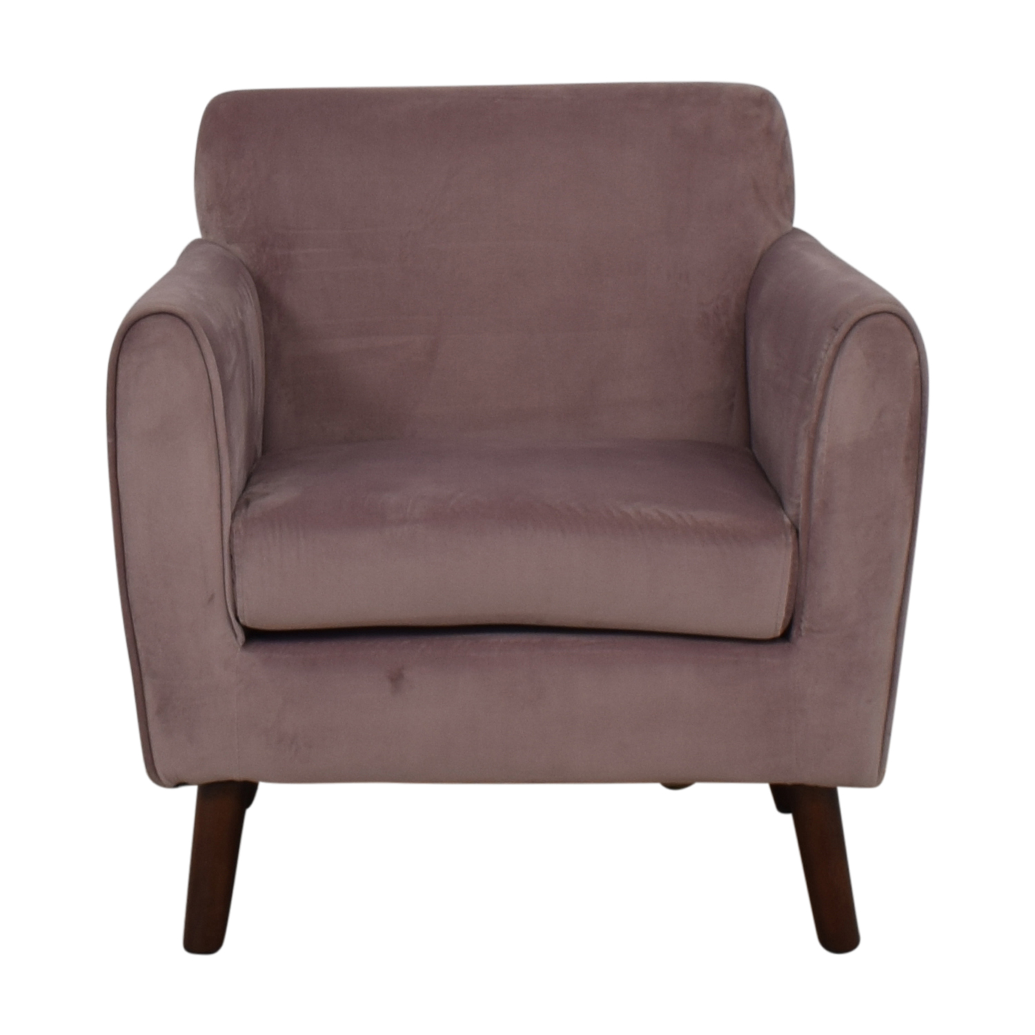 Purple Accent Chair 80 Off Brylane Home Brylane Home Purple Accent Chair Chairs