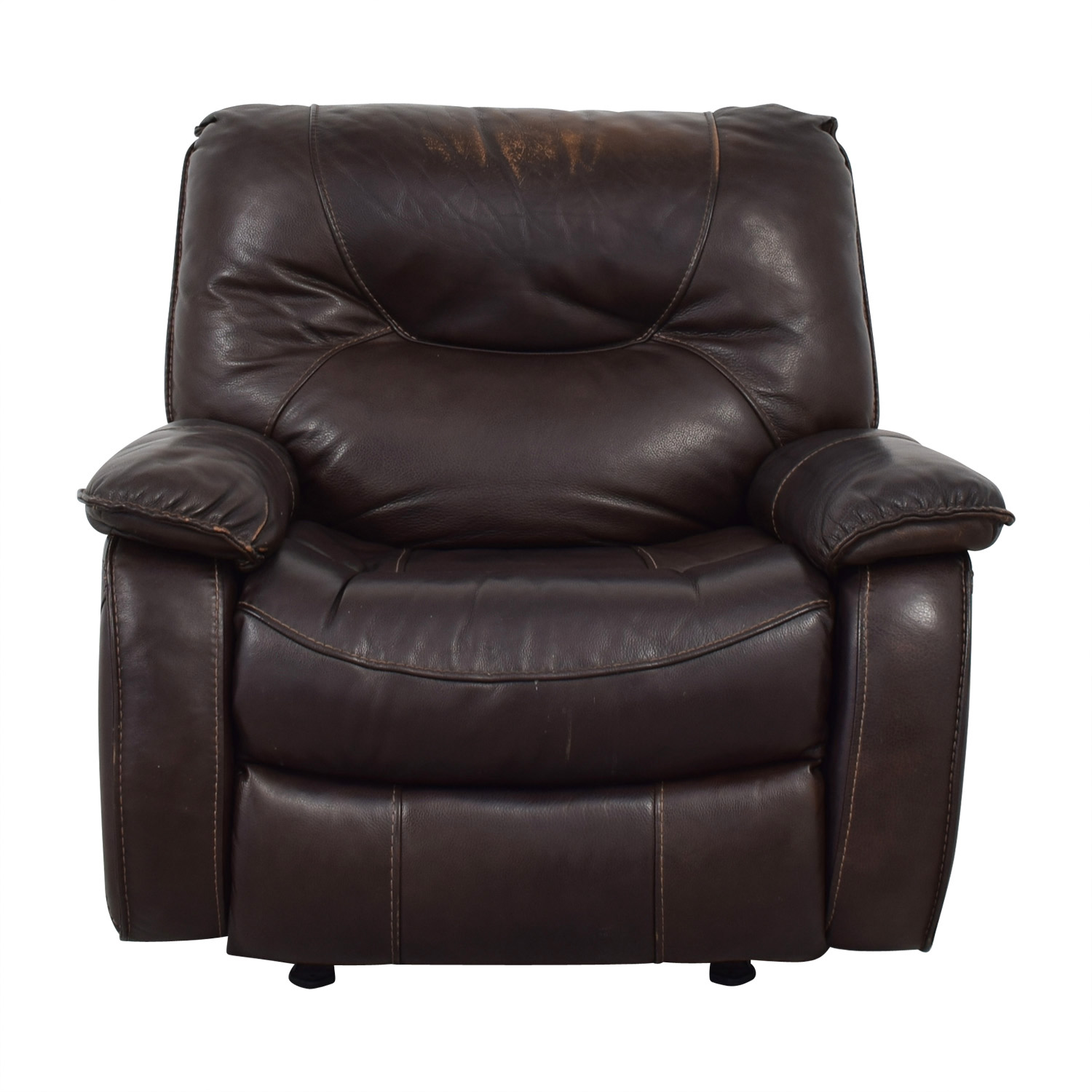 Macys Leather Chair 85 Off Macy S Macy S Brown Leather Recliner Chair Chairs