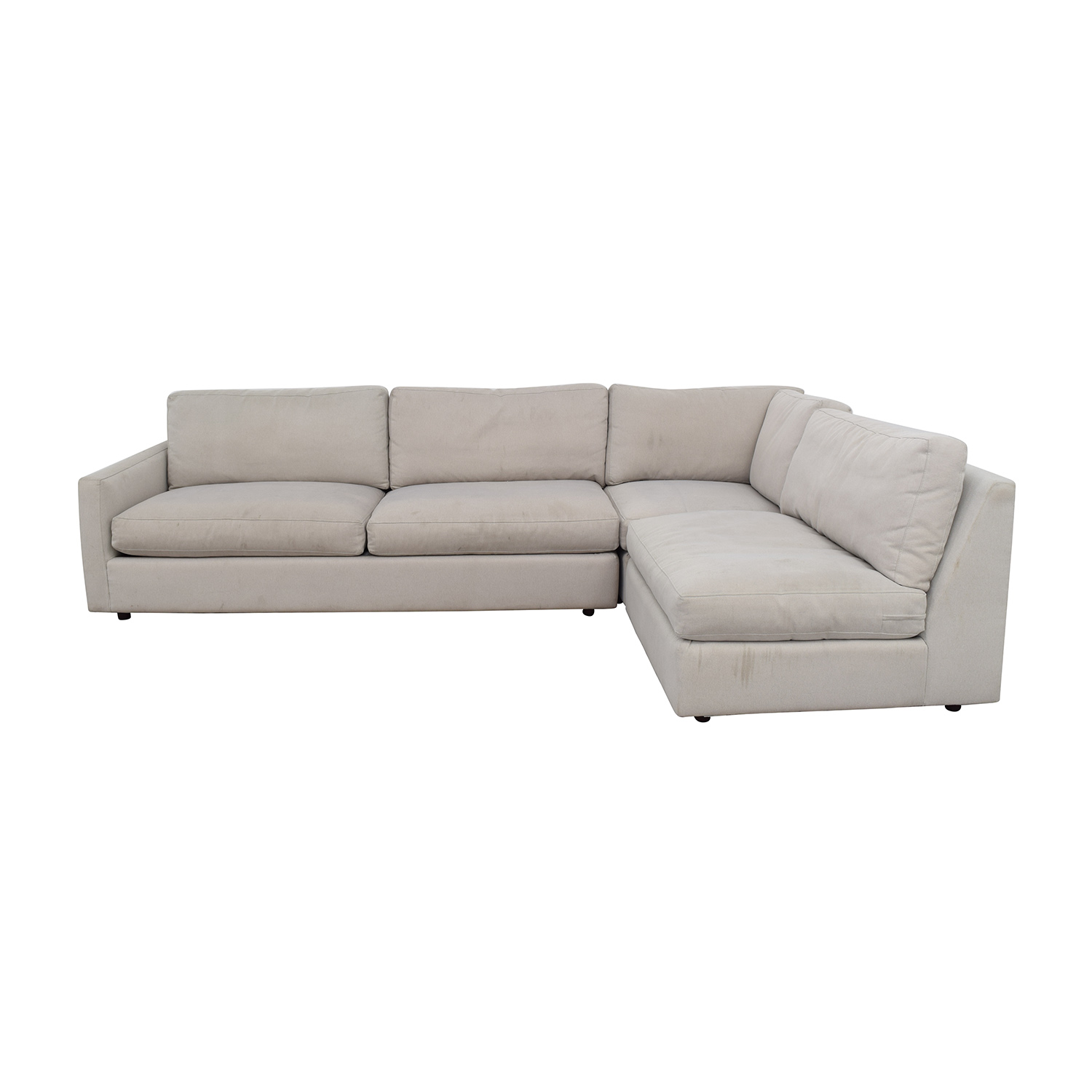 85 off room board room board easton sectional sofas
