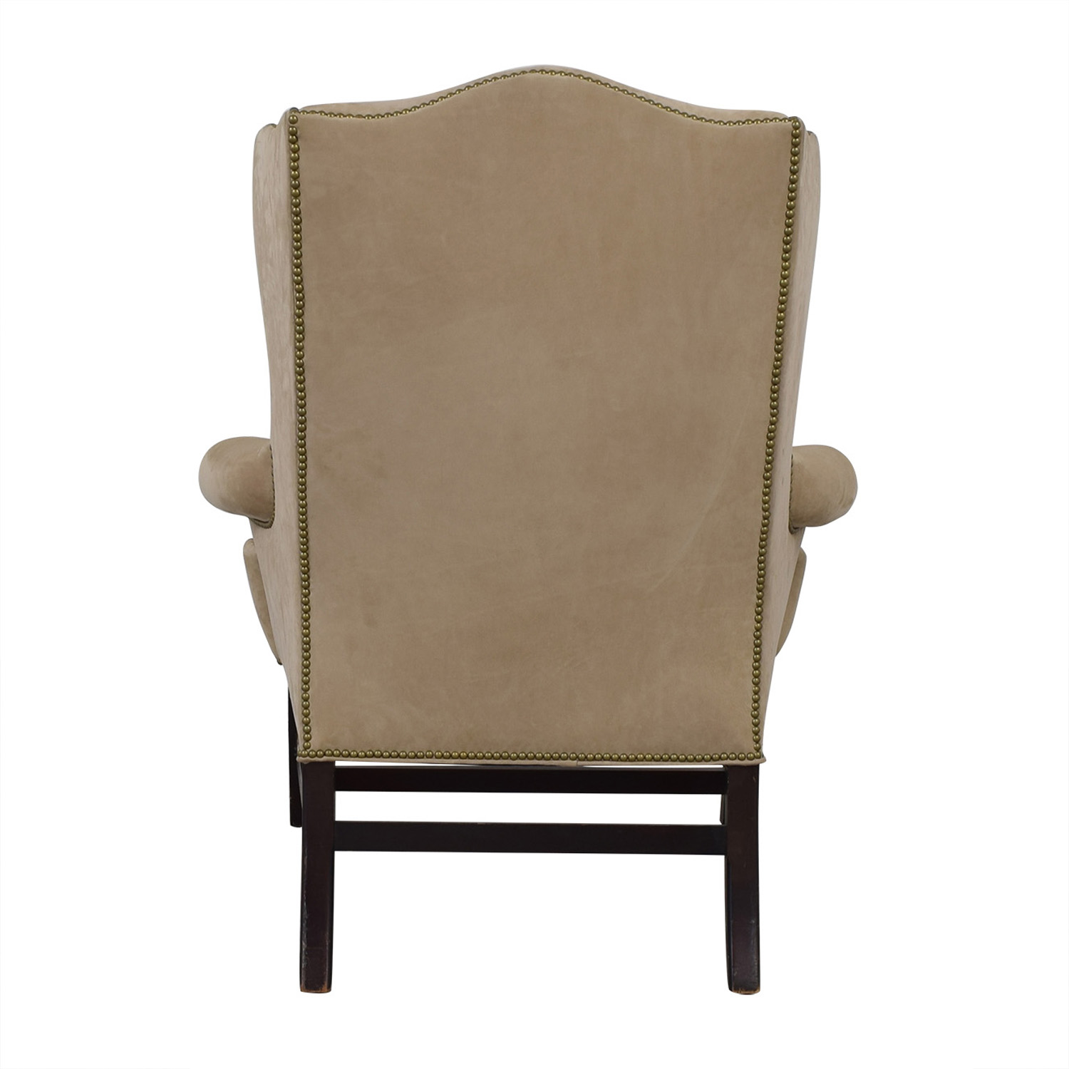 Used Wingback Chairs 79 Off Ralph Lauren Home Ralph Lauren Home Beige Nailhead Wingback Chair Chairs