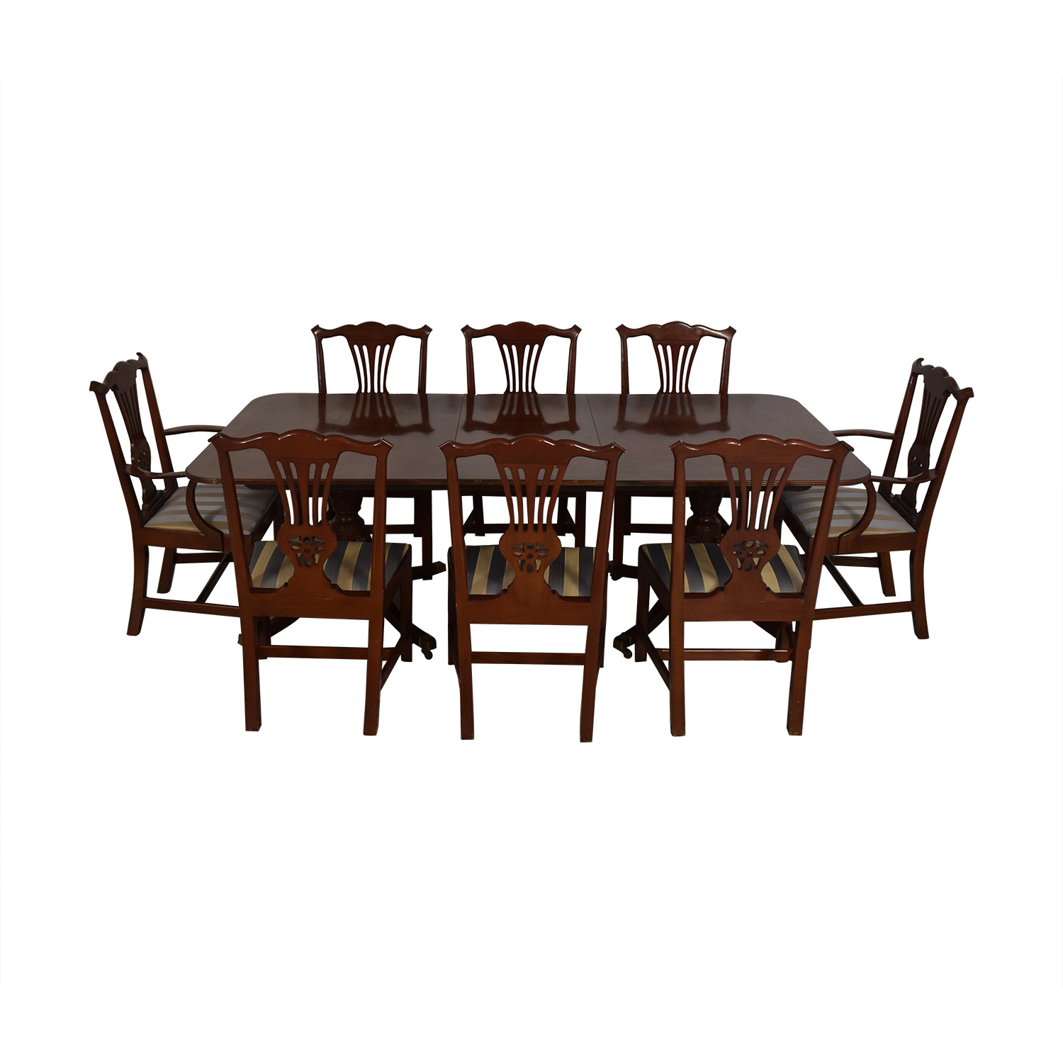 Used Dining Room Table And Chairs 70 Off Baker Furniture Baker Furniture Dining Room Table And Chairs Tables